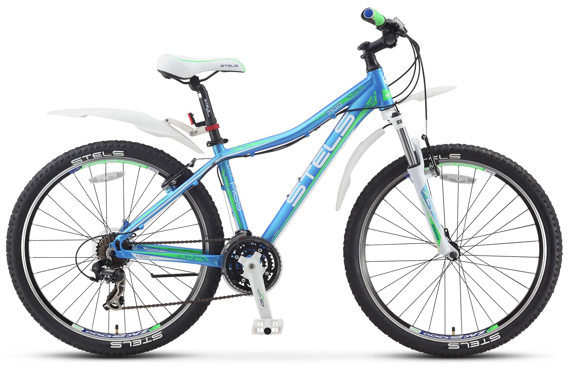 Велосипед Stels Miss 7100 V 2016 велосипед stels navigator 380 2016