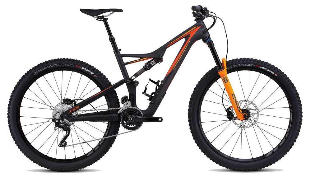 Велосипед Specialized Stumpjumper FSR Comp Carbon 650B 2016 велосипед specialized demo 8 fsr i 2016