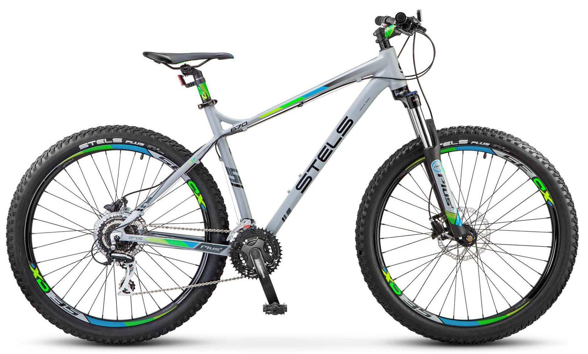 Велосипед Stels Navigator 670 D 27.5 + 2017