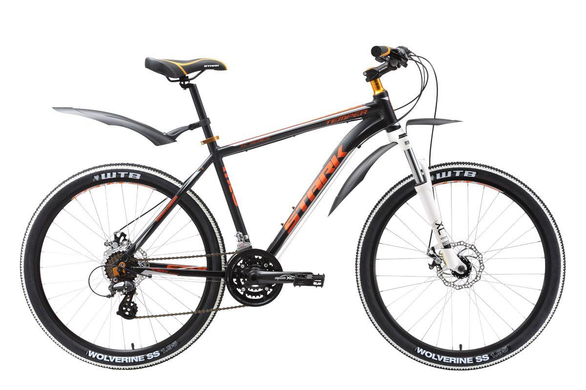 Велосипед StarkГорные<br><br><br>year: 2016<br>цвет: красный<br>пол: мужской<br>тип тормозов: дисковый механический<br>диаметр колеса: 26<br>тип рамы: хардтейл<br>уровень оборудования: любительский<br>материал рамы: алюминий<br>тип амортизированной вилки: пружинно-масляная<br>длина хода вилки: до 100 мм<br>тип заднего амортизатора: без амортизатора<br>количество скоростей: 21<br>блокировка амортизатора: нет<br>передний тормоз: Promax, диаметр ротора 160 мм<br>задний тормоз: Promax, диаметр ротора 160 мм<br>цепь: KMC Z51<br>ободья: Weinmann XTB26<br>передняя втулка: Joytech alloy<br>задняя втулка: Joytech alloy<br>передняя покрышка: Kenda, 26 x 1,95<br>задняя покрышка: Kenda, 26 x 1,95<br>кассета: Sunrace MFM2A 14-28T<br>передний переключатель: Shimano Tourney FD-TY10<br>задний переключатель: Shimano Altus<br>манетки: Shimano ST-EF51<br>рама: AL 6061<br>вилка: Suntour SF16-XCT, ход 80 мм<br>размер рамы: 18&amp;amp;quot;<br>Серия: Disc