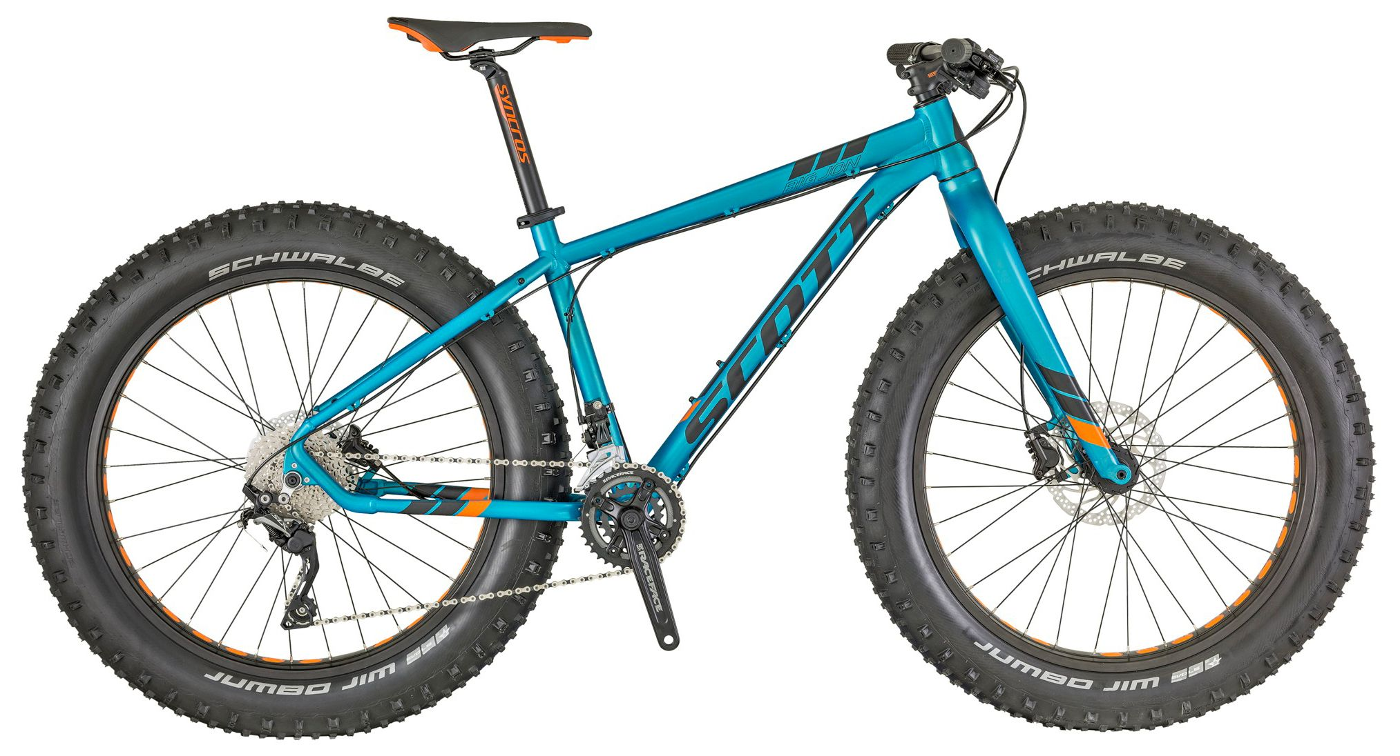 Велосипед Scott Big Jon 2018,  Фэтбайки  - артикул:289075