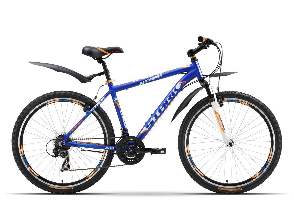 Велосипед StarkГорные<br><br><br>year: 2016<br>цвет: чёрный<br>пол: мужской<br>тип тормозов: ободной<br>диаметр колеса: 26<br>тип рамы: хардтейл<br>уровень оборудования: любительский<br>материал рамы: алюминий<br>тип амортизированной вилки: пружинная<br>длина хода вилки: до 100 мм<br>тип заднего амортизатора: без амортизатора<br>количество скоростей: 21<br>блокировка амортизатора: нет<br>цепь: Taya TB50<br>система: 42-34-24T<br>ободья: Алюминиевый сплав, double wall<br>передняя покрышка: Wanda, 26<br>задняя покрышка: Wanda, 26<br>кассета: Shimano MFMTZ21, 14-28T<br>передний переключатель: Shimano TZ-30<br>задний переключатель: Shimano TX-35<br>манетки: Shimano ST-EF51<br>рама: Алюминиевый сплав 6061<br>вилка: Zoom 327<br>размер рамы: 20&amp;amp;quot;<br>Серия: Indy