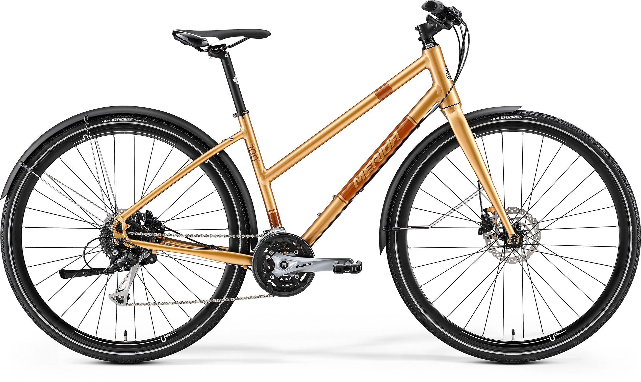 купить Велосипед Merida Crossway Urban 100-Lady 2017 недорого