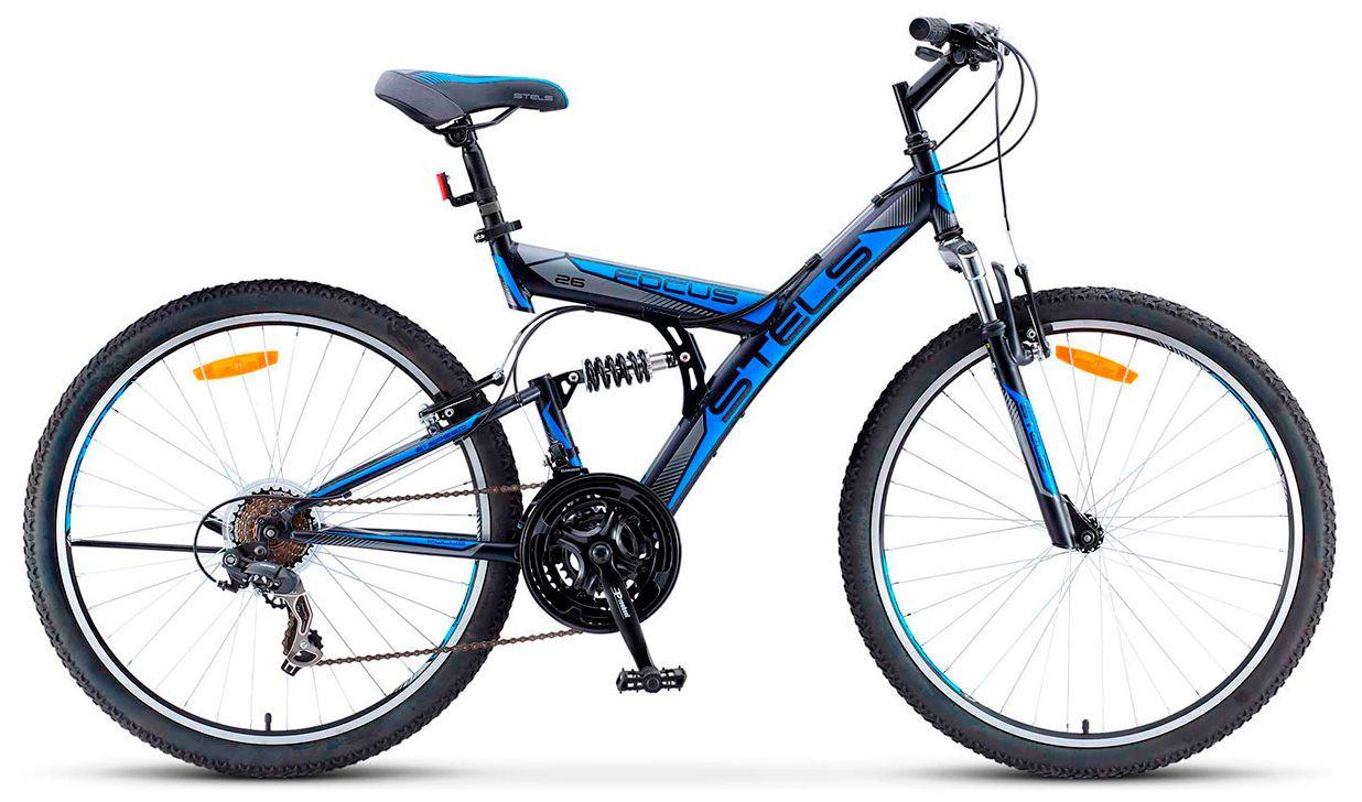 Велосипед Stels Focus V 18-sp (V030) 2017 stels focus v 21 sp 2015
