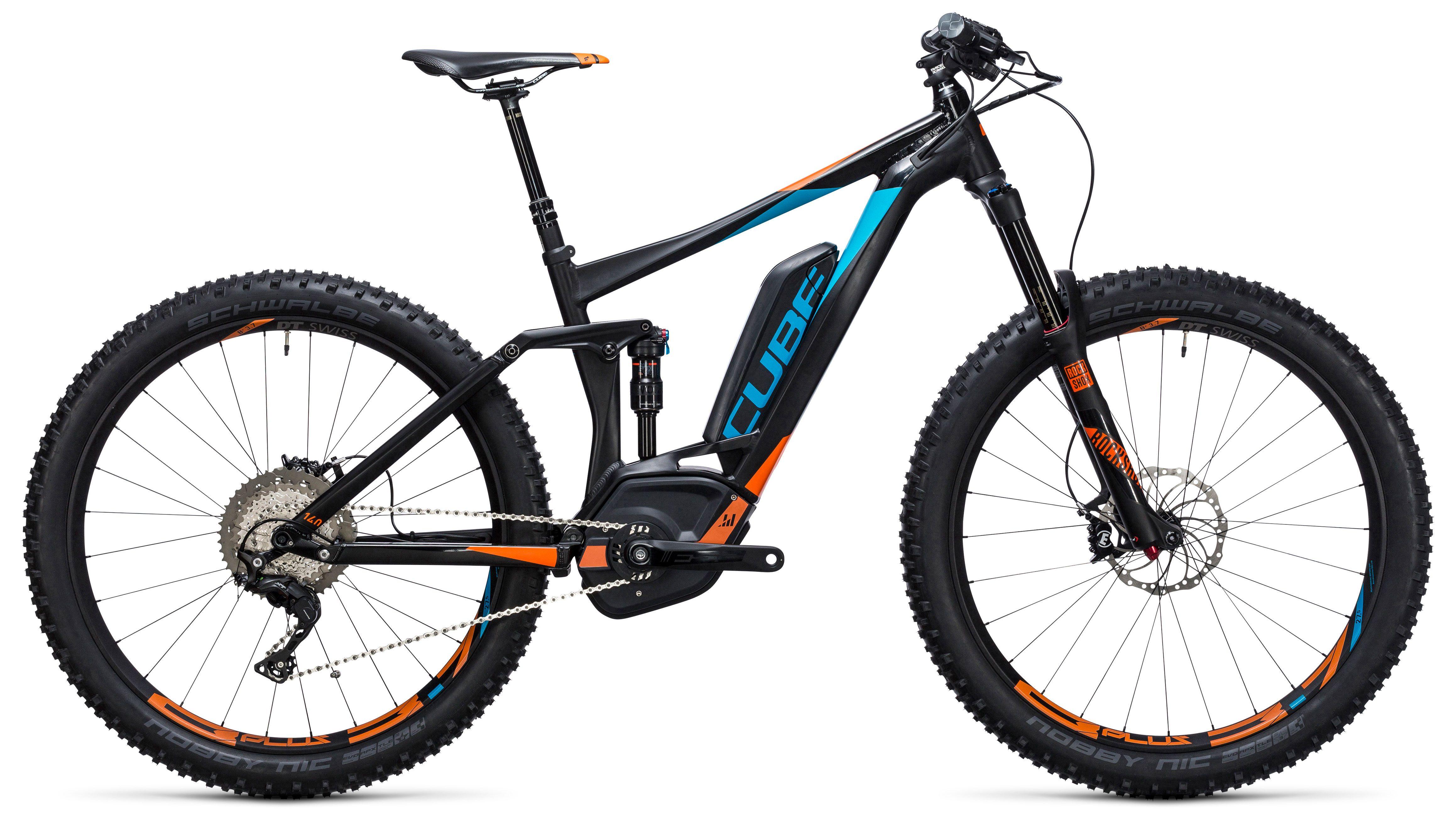Велосипед Cube Stereo Hybrid 140 HPA SL 500 27.5+ 2017,  Двухподвесы  - артикул:272702
