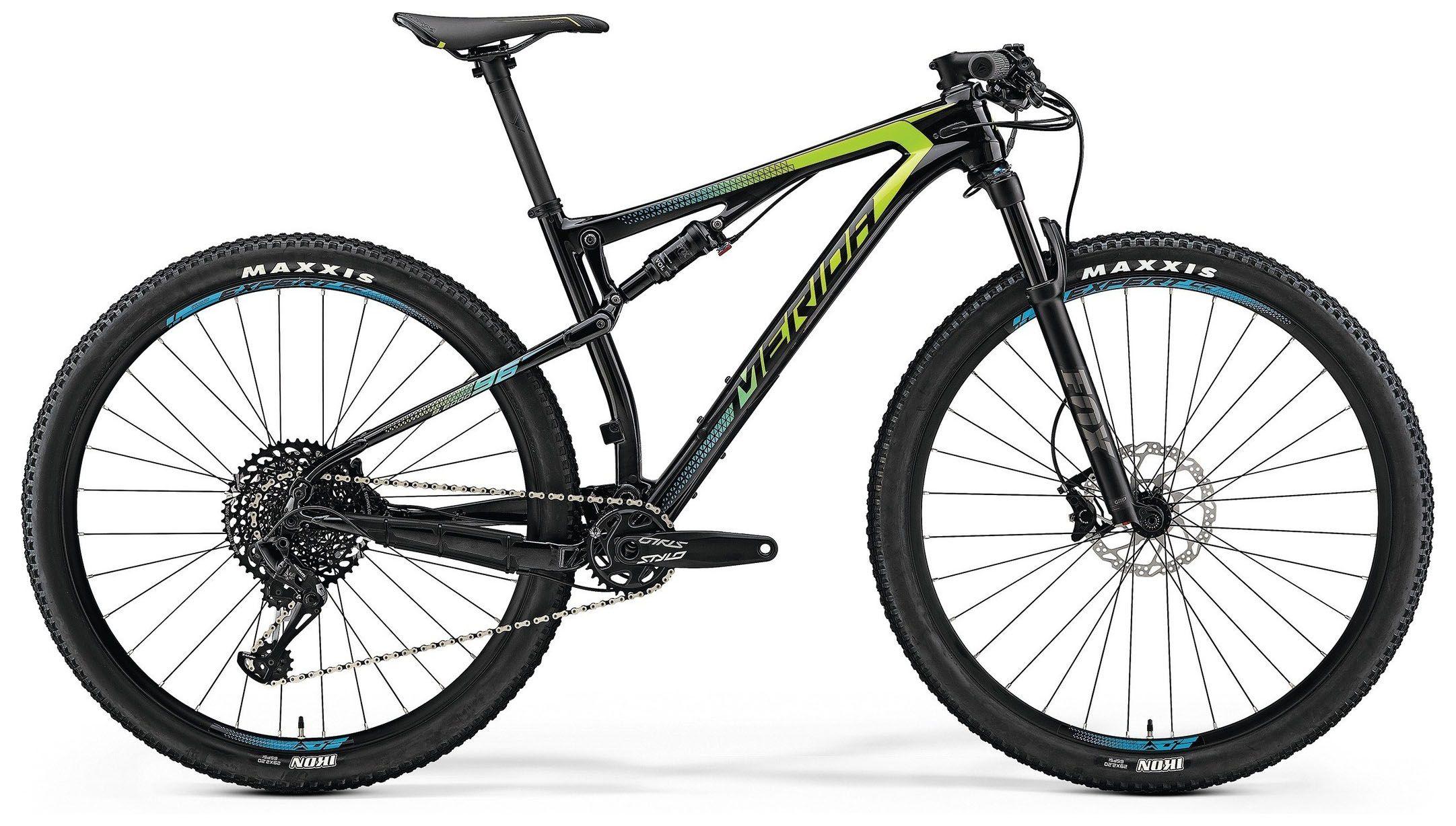 Велосипед Merida Ninety-Six 9.6000 2018,  Двухподвесы  - артикул:287961