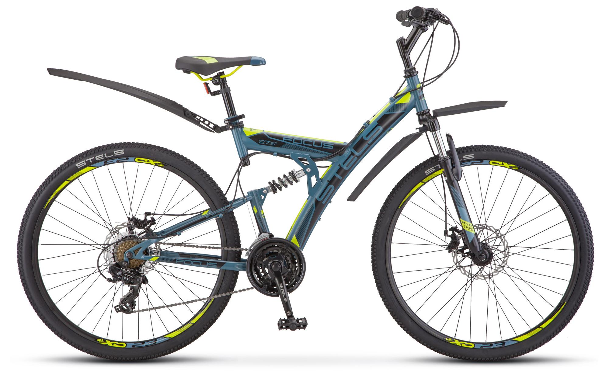 Велосипед Stels Focus MD 27.5 21-sp (V010) 2019 велосипед stels focus 21 ck 2014