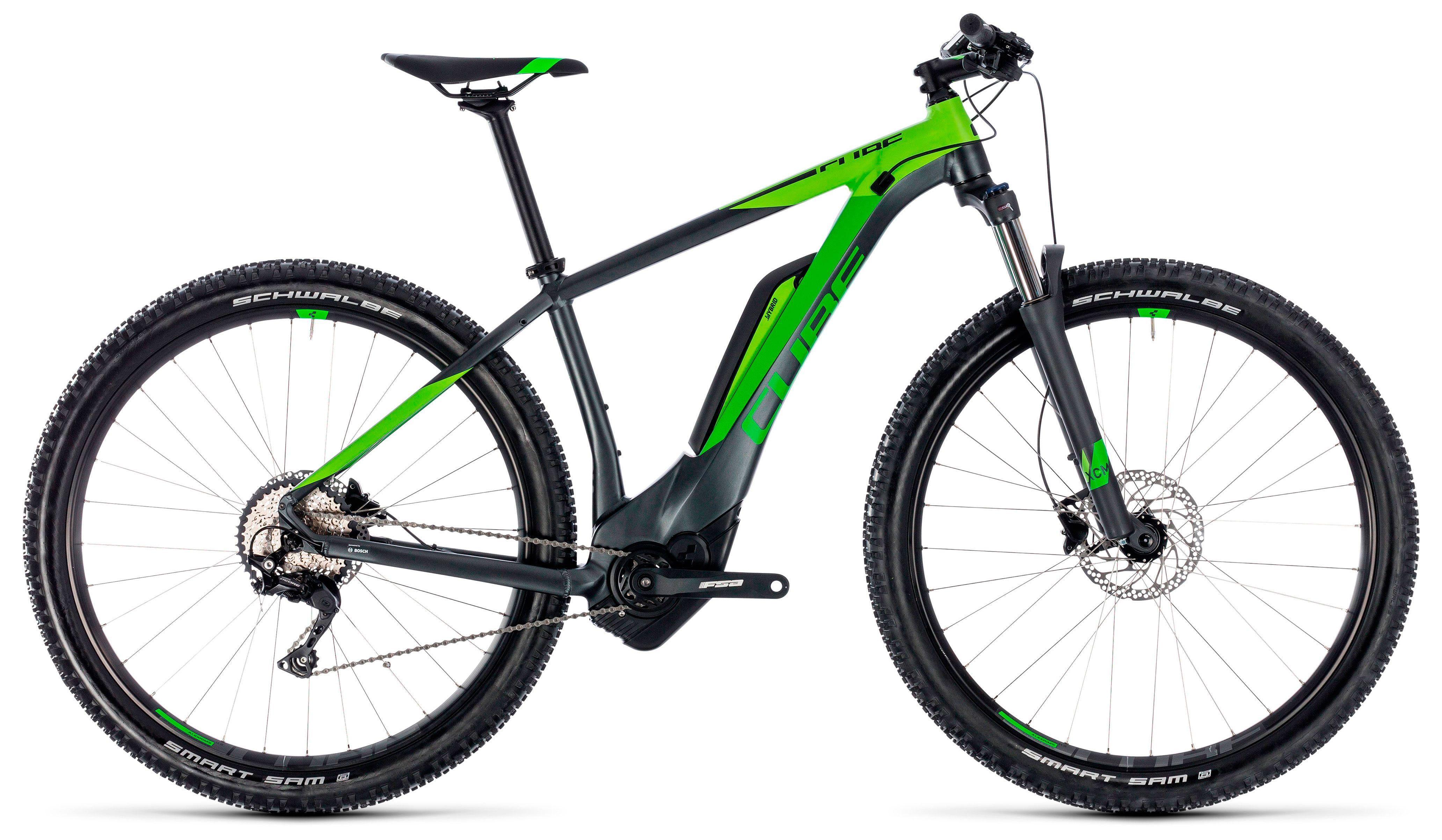Велосипед Cube Reaction Hybrid Pro 500 29 2018