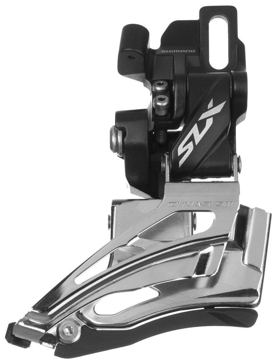 Запчасть Shimano SLX M7025-D переключатель передний shimano slx m7025 l нижний хомут для 2 х 11 скоростей нижняя тяга