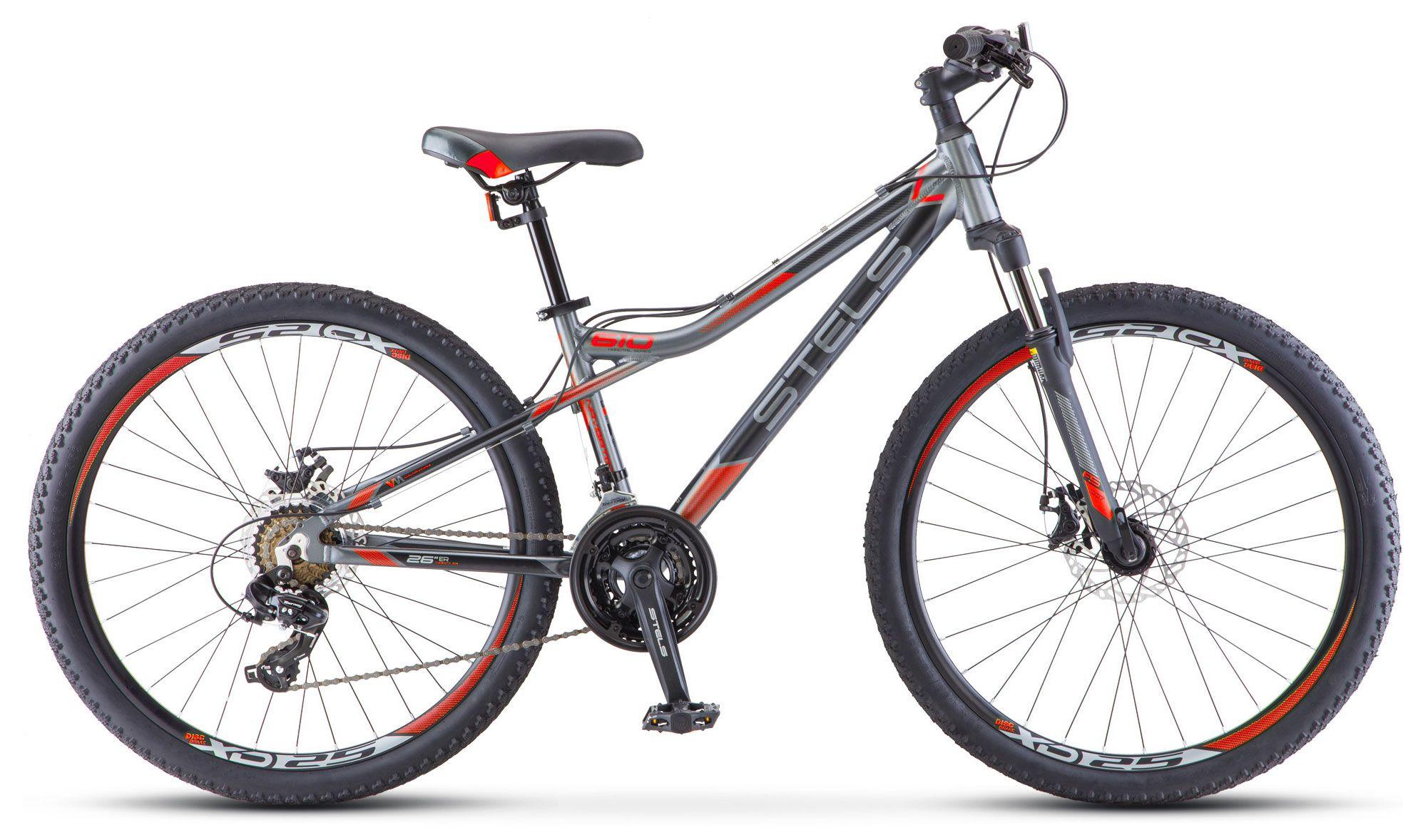 Велосипед Stels Navigator 610 MD 26 (V040) 2018 велосипед stels navigator 670 md 2015