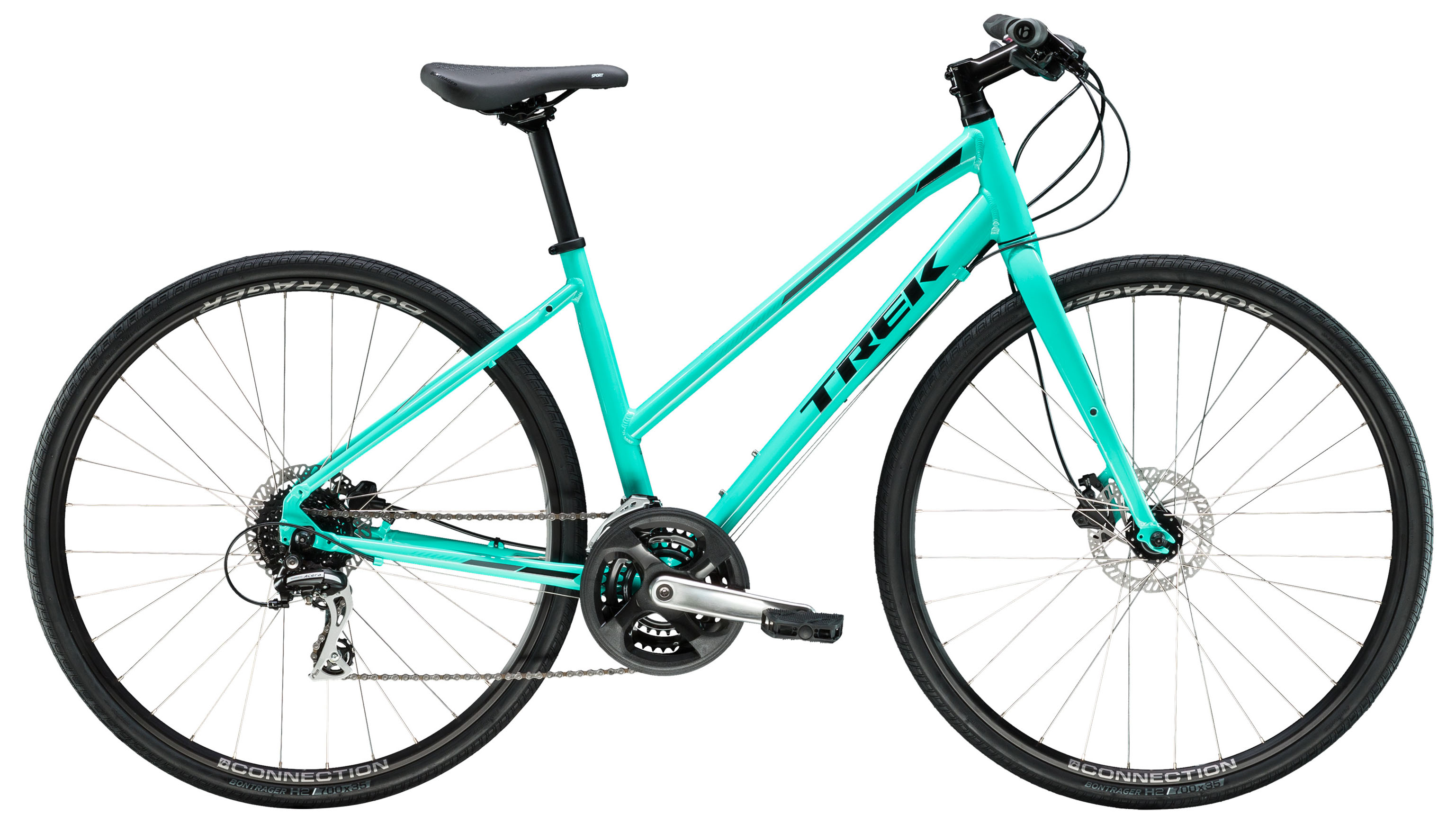 Велосипед Trek FX 2 Womens Disc Stagger 2019 велосипед trek 7 2 fx 2015