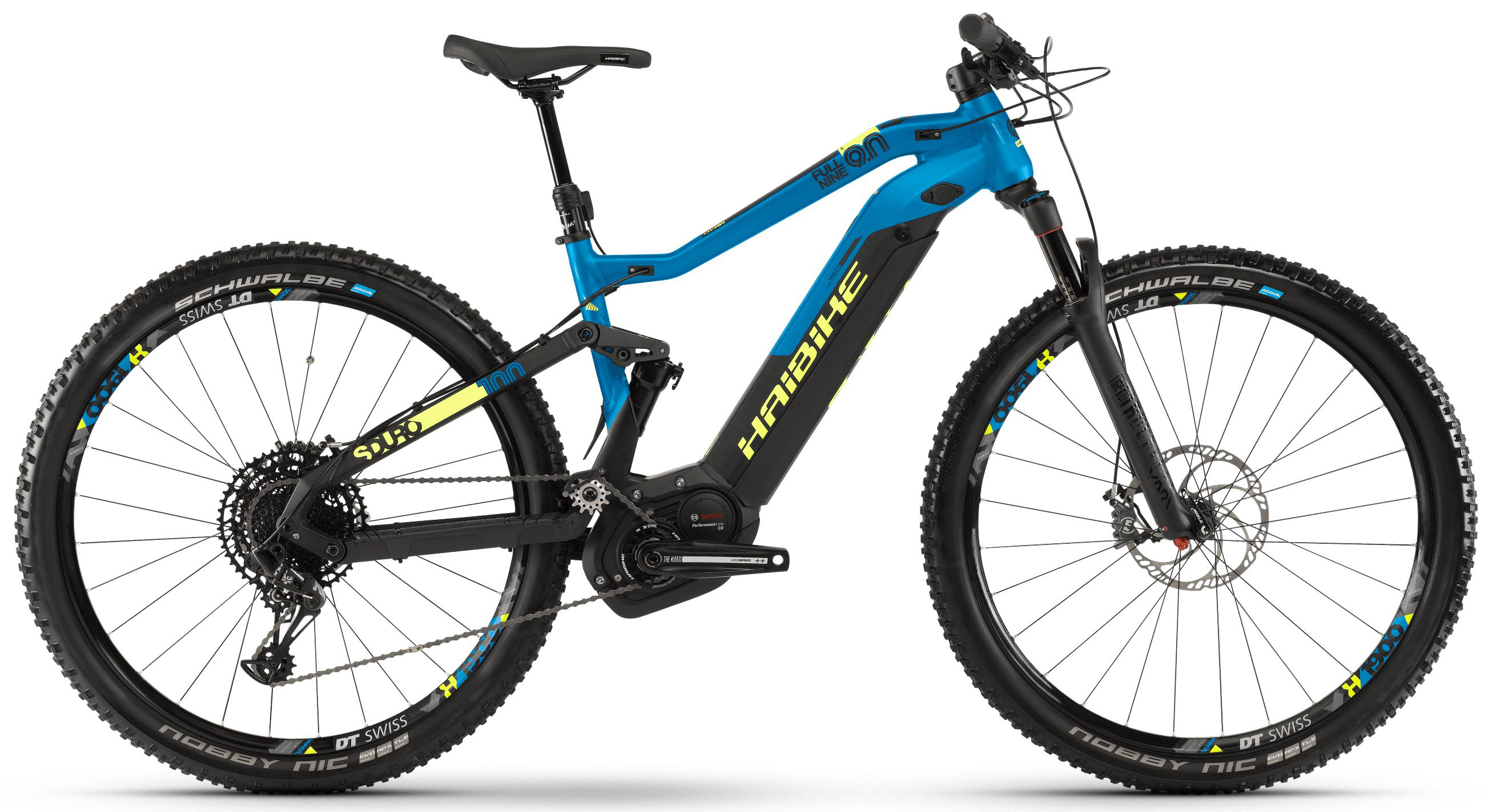 Велосипед Haibike SDURO FullNine 9.0 i500Wh 12-G NX 2019