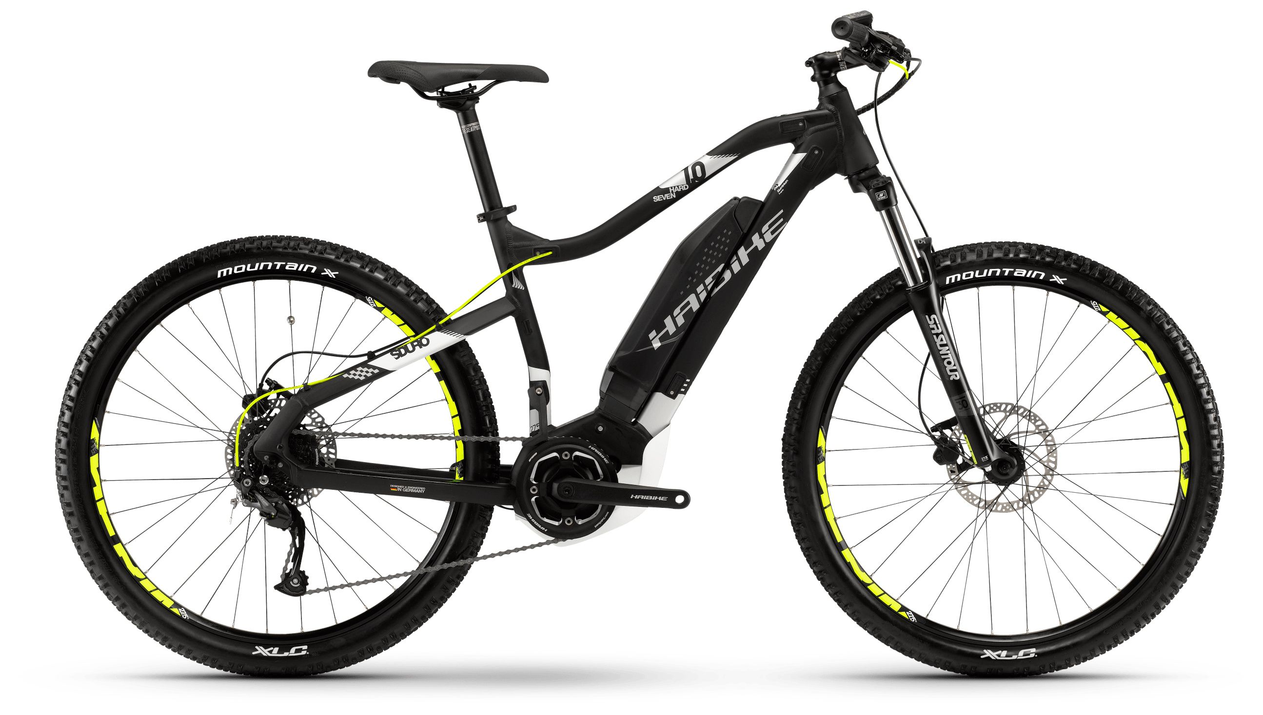 Велосипед Haibike Sduro HardSeven 1.0 400Wh 9s Altus 2018 велосипед haibike sduro trekking 4 0 he 400wh 10s deore 2018