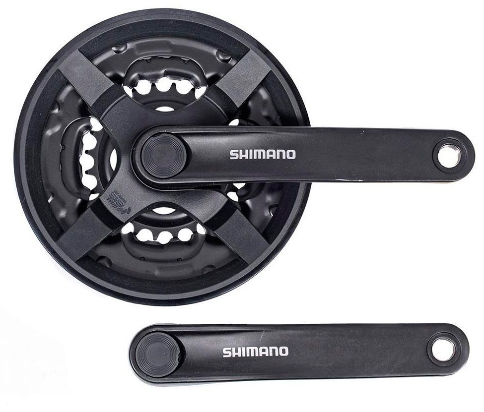 Запчасть Shimano Tourney TY301, 175 мм, 42/34/24, с защитой