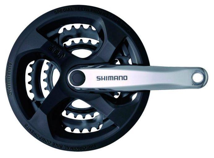 Запчасть Shimano Tourney M131, 170 мм, 42/34/24 (AFCM131C244C)