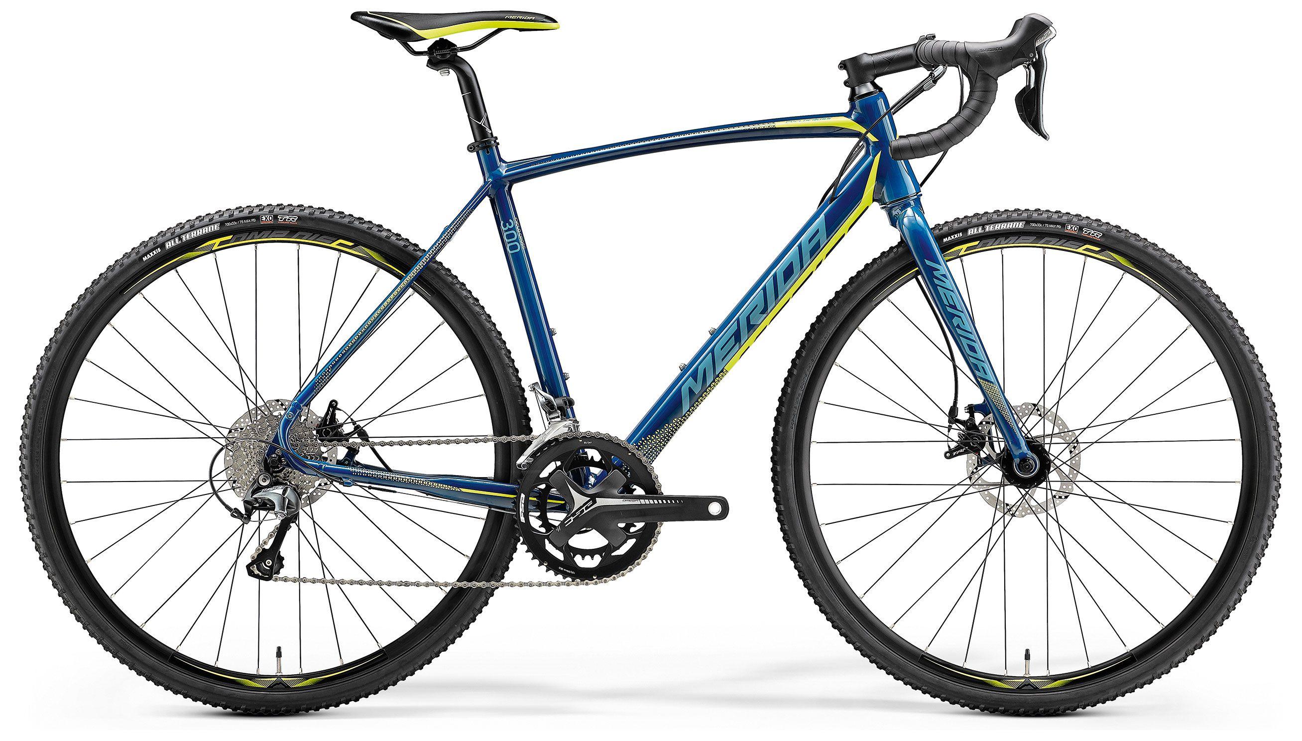 Велосипед Merida CycloСross 300 2018,  Шоссейные  - артикул:284884
