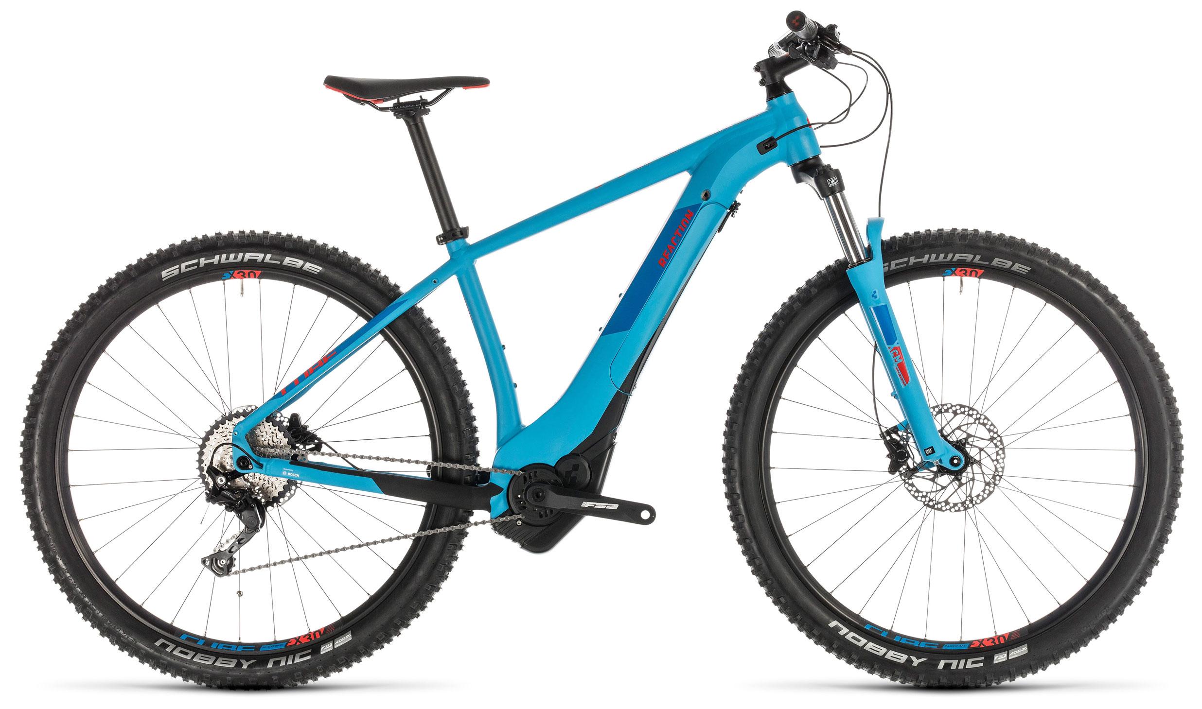 Велосипед Cube Reaction Hybrid EXC 500 29 2019 цена