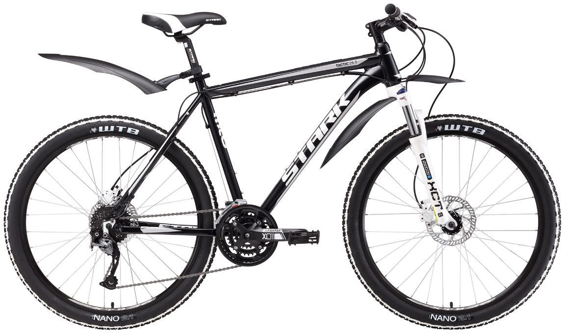 Велосипед Stark Tactic 26.5 HD 2017 велосипед stark armer 27 7 hd 2018