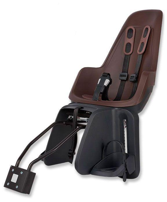 Аксессуар Bobike ONE maxi 1Р детское велокресло на багажник с поручнем и подголовником до 22кг 310 670 310мм синее 6 639882