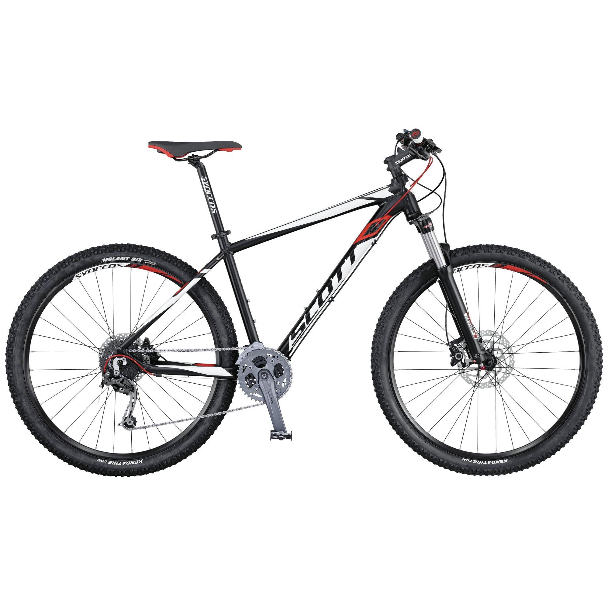 Велосипед ScottГорные<br>Высококлассный хардтейл Scott Aspect 930 подойдет как продвинутым спортсменам, так и обычным любителям комфортных прогулок по пересеченной местности. Отличное сочетание цены и качества. Благодаря алюминиевой раме, изготовленной с применением технологии двойного баттинга, Scott Aspect 930 получился прочным и легким одновременно. Амортизационная вилка Suntour XCR-RL-R 29 позволит без труда преодолевать каменные участки трассы. Высокоуровневое навесное оборудование Shimano Deore поможет быстро и плавно подобрать нужную передачу.<br><br>year: 2016<br>пол: мужской<br>тип рамы: хардтейл<br>уровень оборудования: продвинутый<br>длина хода вилки: от 100 до 150 мм<br>блокировка амортизатора: да<br>вынос: Syncros M3.0, HL-D507A<br>руль: Syncros M3.0, ширина 720 мм, 31.8 мм, 9°<br>передний тормоз: Shimano BR-M355, диаметр ротора 180 мм<br>задний тормоз: Shimano BR-M355, диаметр ротора 160 мм<br>тормозные ручки: Shimano BL-M355<br>цепь: KMC X9<br>система: Shimano FC-M4000, 40x30x22T<br>каретка: Shimano BB-ES-300, Cartridge Type<br>педали: Wellgo M-248DU<br>ободья: Syncros X-39 Disc, 32H<br>передняя втулка: Formula CL51<br>задняя втулка: Shimano FH-RM 33-CL<br>спицы: 14 G, stainless<br>передняя покрышка: Kenda Slant 6, 30TPI, 29 x 2.2<br>задняя покрышка: Kenda Slant 6, 30TPI, 29 x 2.2<br>седло: Syncros M2.5<br>подседельный штырь: Syncros M3.0, 27.2mm<br>кассета: Shimano CS-HG200-9, 11-34T<br>манетки: Shimano SL-M370-9R, R-fire plus<br>вес: 14.5 кг<br>рама: Aspect 900 series, Alloy 6061 D.B. Performance geometry, Internal cable routing<br>вилка: Suntour XCR-RL-R 29, Remote Lockout, reb. Adj, ход 100 мм<br>тип заднего амортизатора: без амортизатора<br>цвет: белый<br>размер рамы: 18&amp;amp;quot;<br>материал рамы: алюминий<br>тип тормозов: дисковый гидравлический<br>диаметр колеса: 29<br>тип амортизированной вилки: воздушно-масляная<br>передний переключатель: Shimano FD-M3000 / 31.8mm<br>задний переключатель: Shimano Deore RD-M592, 27 Speed<br>количество ско