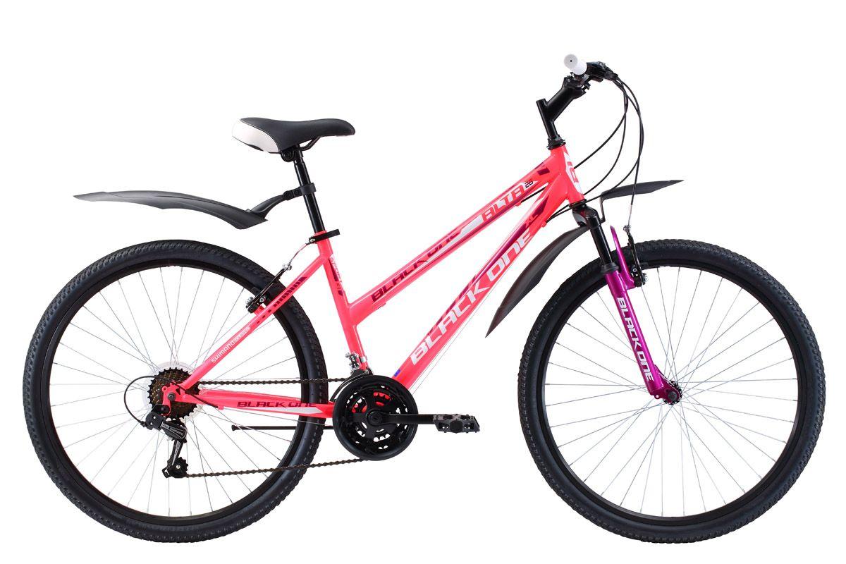 Велосипед Black One Alta 26 2017 black one велосипед black one active 26 2017 черно оранжевый 20