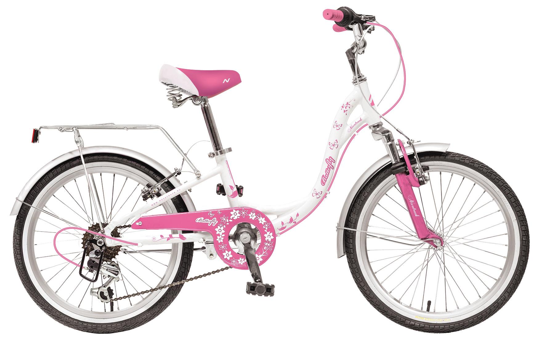 Велосипед Novatrack Butterfly 20 6sp 2019