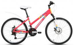 Подростковый велосипед для девочек  Forward   Iris 24 2.0 disc  2019