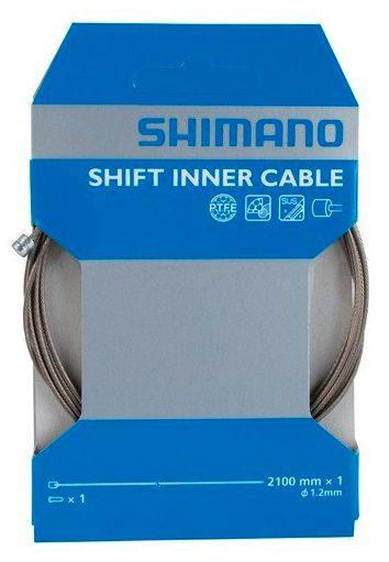 Запчасть Shimano трос переключения 1.2X2100 мм с PTFE (Y60098921)