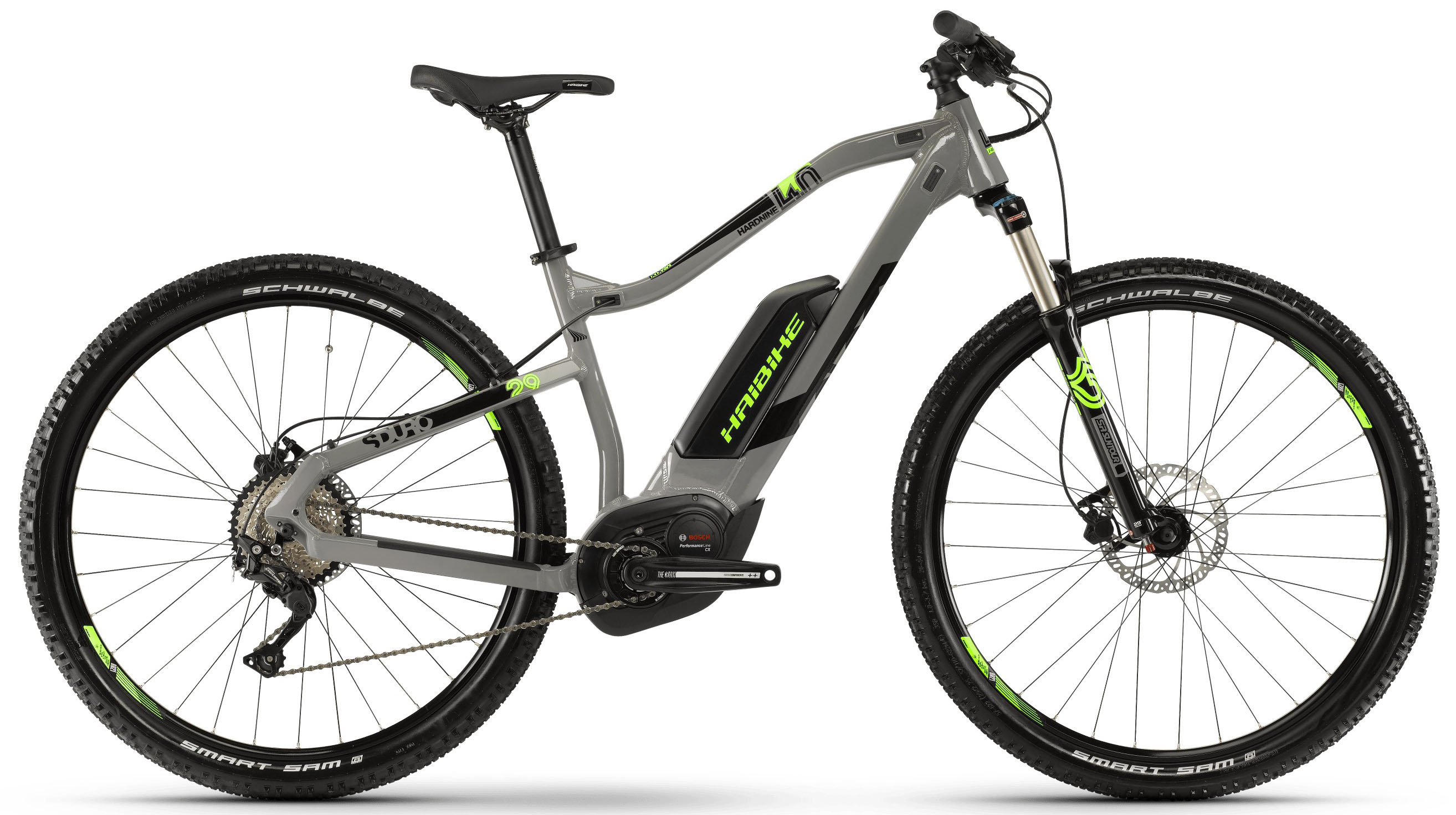 Велосипед Haibike SDURO HardNine 4.0 500Wh 10-G Deore 2019 велосипед haibike sduro trekking 4 0 he 400wh 10s deore 2018