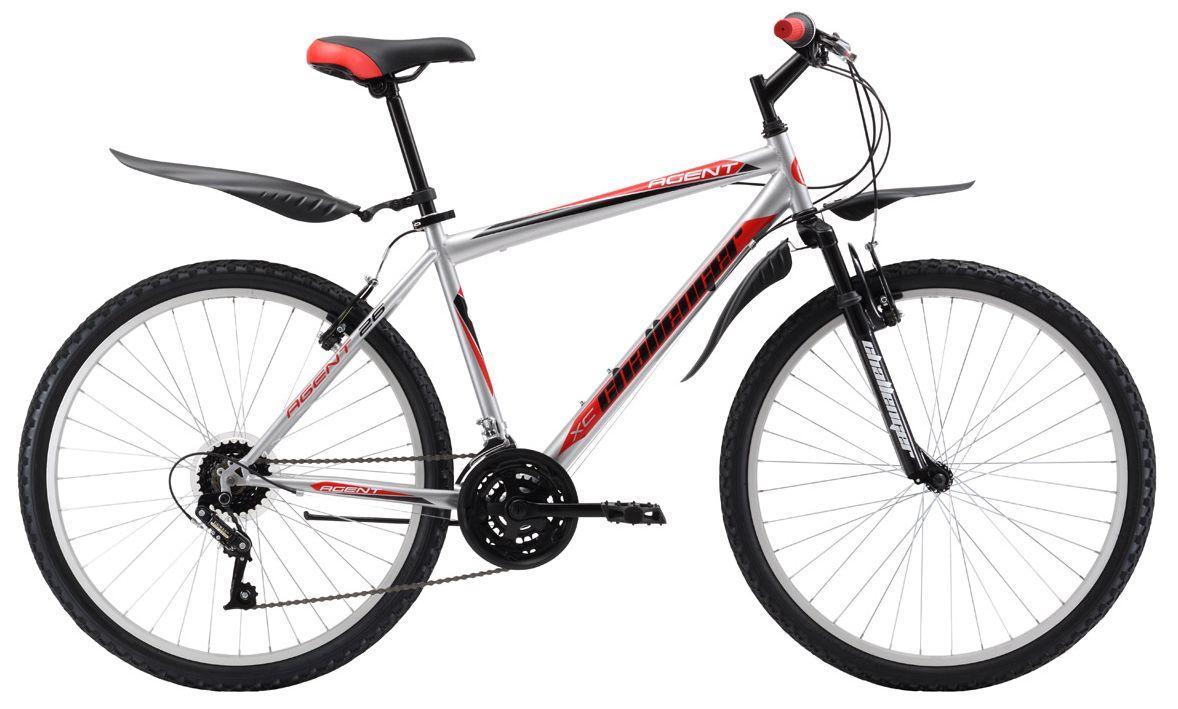 Велосипед Challanger Agent 26 2017 велосипед challenger agent lux 26 черно серый 16