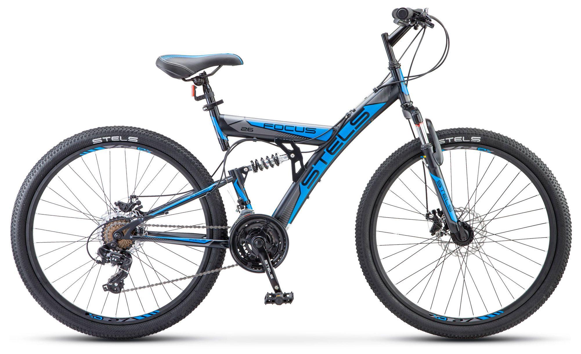 все цены на Велосипед Stels Focus MD 26 21-sp (V010) 2017 онлайн