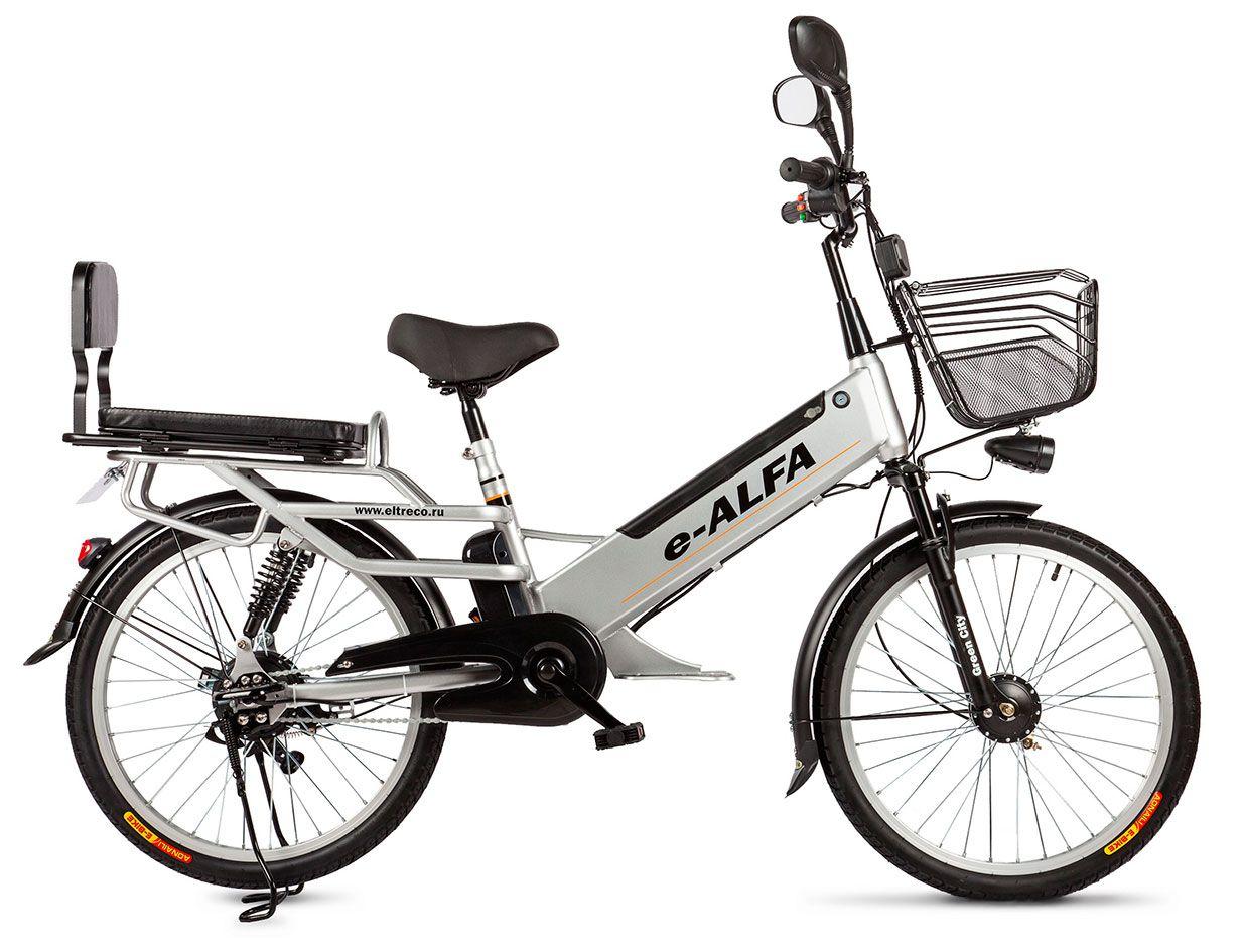 Велосипед Eltreco e-Alfa L 2018