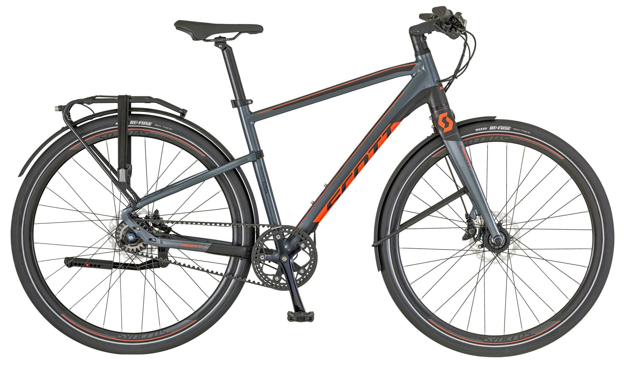 Велосипед Scott Silence Evo 2018