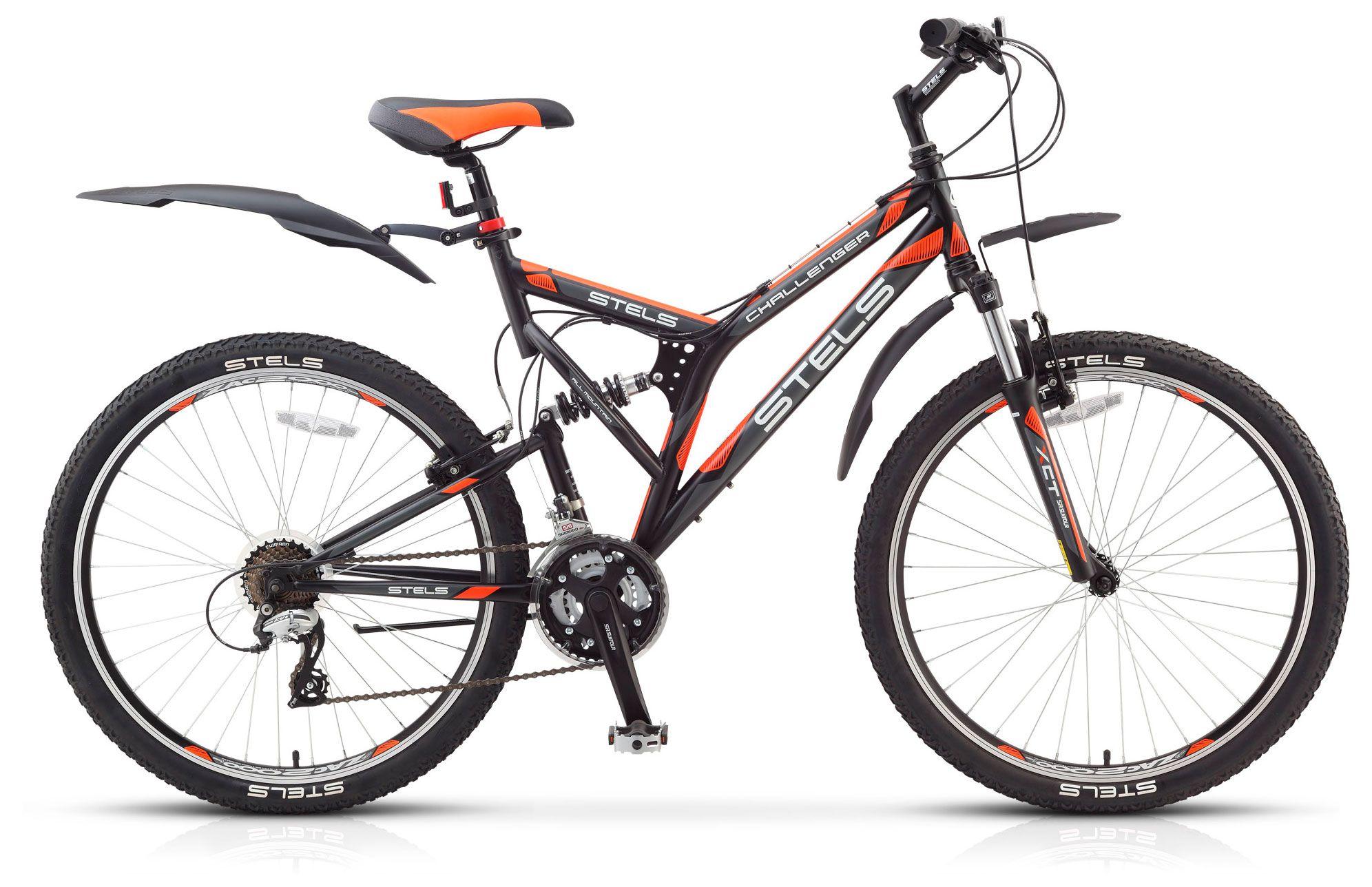 Велосипед Stels Challenger V 26 (V010) 2018 велосипед challenger agent lux 26 черно серый 20