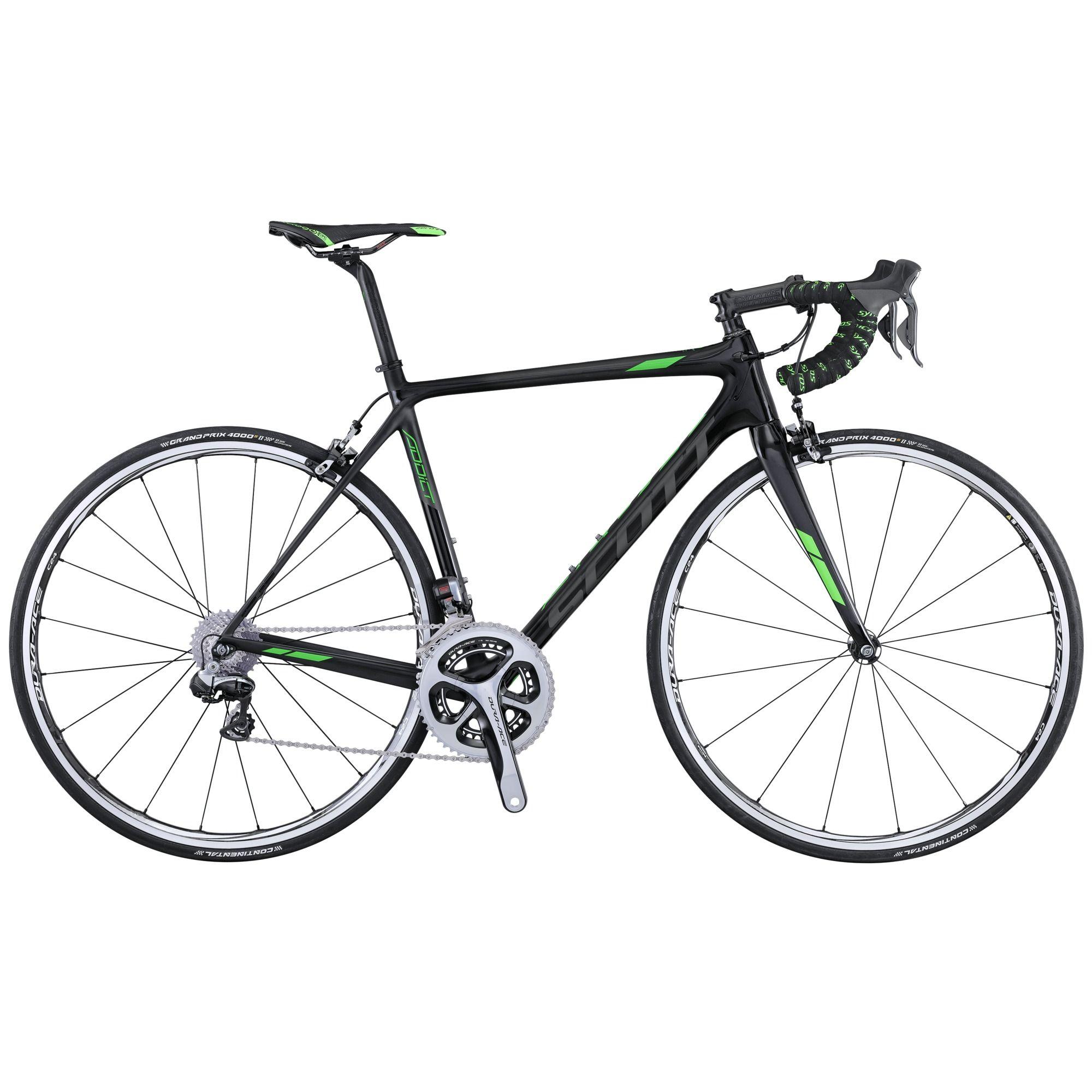 Велосипед ScottШоссейные<br><br><br>year: 2016<br>пол: мужской<br>уровень оборудования: профессиональный<br>рулевая колонка: Ritchey WCS Integrated<br>вынос: Syncros FL1.0, Carbon 1 1/8 / four Bolt 31.8 мм<br>руль: Syncros RR1.1, Carbon Anatomic 31.8 мм<br>передний тормоз: Shimano Dura-Ace BR-9000, Super SLR Dual pivot<br>задний тормоз: Shimano Dura-Ace BR-9000, Super SLR Dual pivot<br>цепь: Shimano Dura-Ace CN-HG900<br>система: Shimano Dura-Ace FC-9000, Hollowtech II, 52x36T<br>каретка: Dura Ace SM-BB92-41<br>ободья: Shimano Dura Ace WH9000 Carbon / Alloy CL24, спереди: 16H, сзади: 20H<br>передняя втулка: Shimano Dura Ace WH9000<br>задняя втулка: Shimano Dura Ace WH9000<br>спицы: Shimano Dura Ace WH9000<br>передняя покрышка: Continental Grand Prix 4000 S II, 700 х 23C<br>задняя покрышка: Continental Grand Prix 4000 S II, 700 х 23C<br>седло: Prologo Zero II CPC Carbon<br>подседельный штырь: Syncros Carbon FL1.0 ECL, Ergoptimized Comfort Layup, 27.2 х 350 мм<br>кассета: Shimano Dura Ace CS-9000, 11-28T<br>манетки: Shimano Dura-Ace ST-9070, Electronic<br>вес: 6.28 кг<br>рама: Addict HMX / IMP Superlight Carbon technology / Road Race geometry / Replaceable Dropout / STD Seattube / INT BB<br>вилка: Addict HMX 1 1/8 - 1 1/4 Carbon steerer, Integrated Carbon Dropout<br>цвет: чёрный<br>размер рамы: 20.5&amp;amp;quot;<br>материал рамы: карбон<br>тип тормозов: ободной<br>передний переключатель: Shimano Dura-Ace FD-9070, Eletronic<br>задний переключатель: Shimano Dura-Ace RD-9070, 22 Speed Electronic<br>количество скоростей: 22