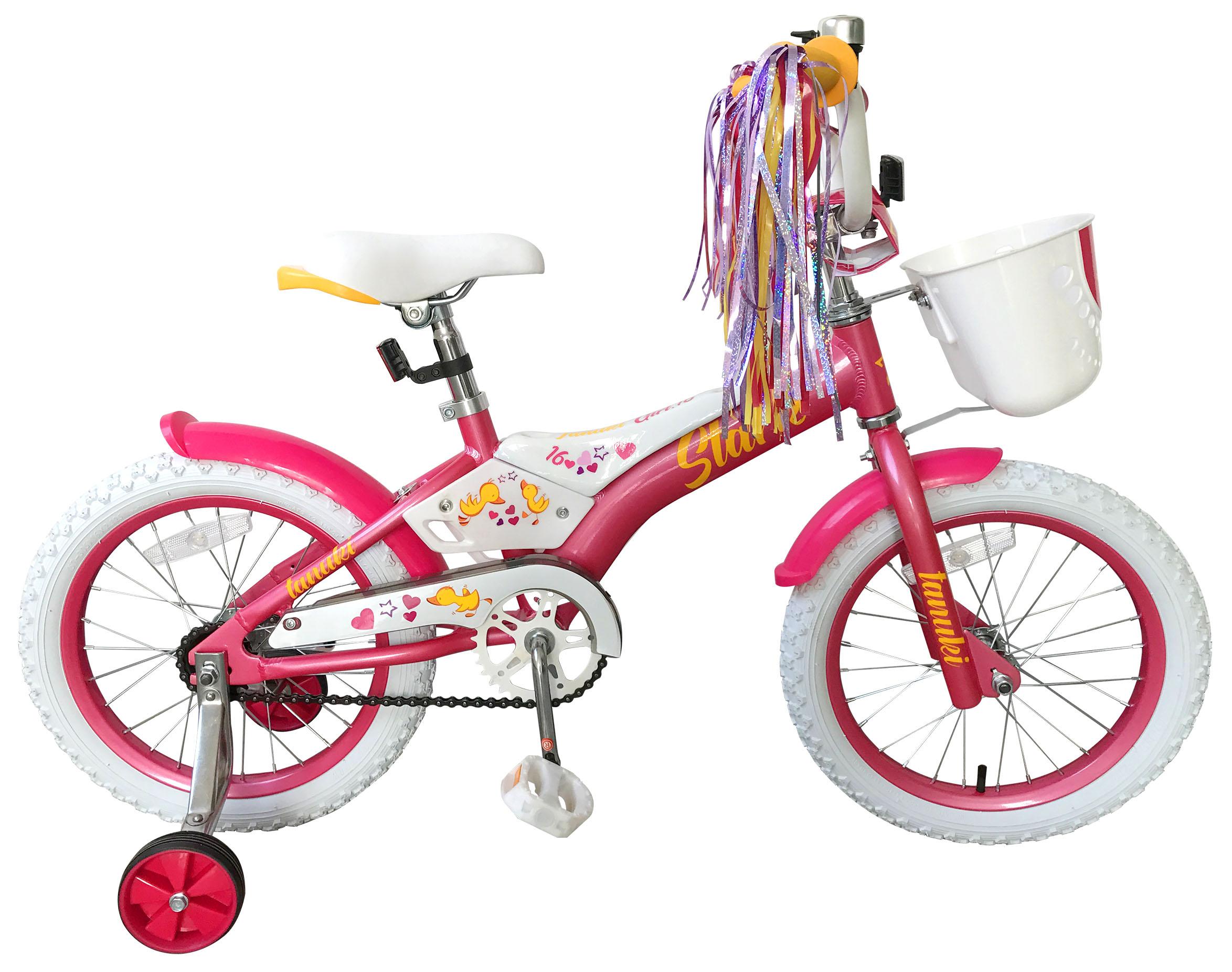 Велосипед Stark Tanuki 16 Girl 2019 автомагнитола digma dcr 380r 1din 4x45вт