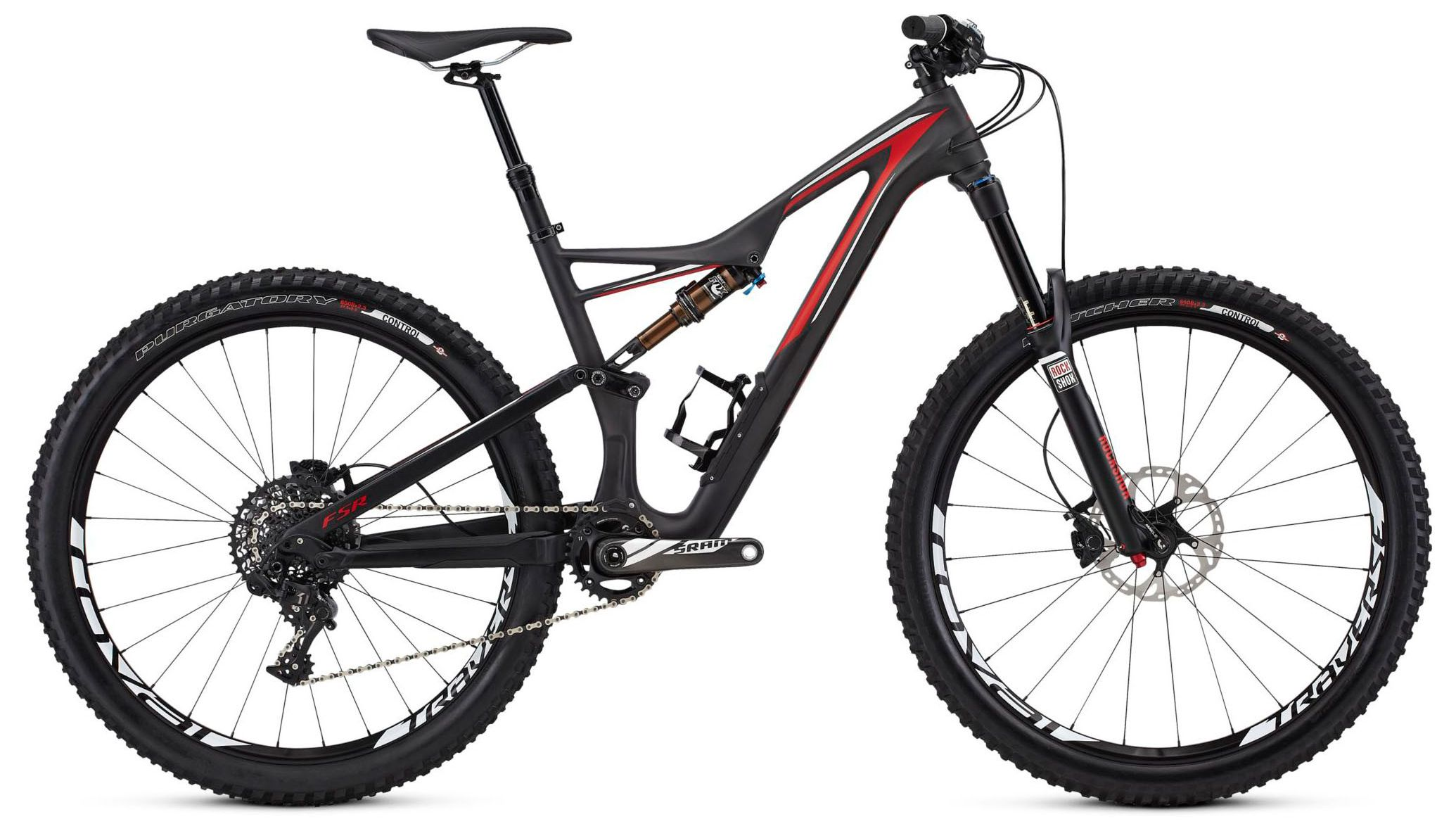 Велосипед Specialized Stumpjumper FSR Expert 650B 2016,  Горные  - артикул:288813