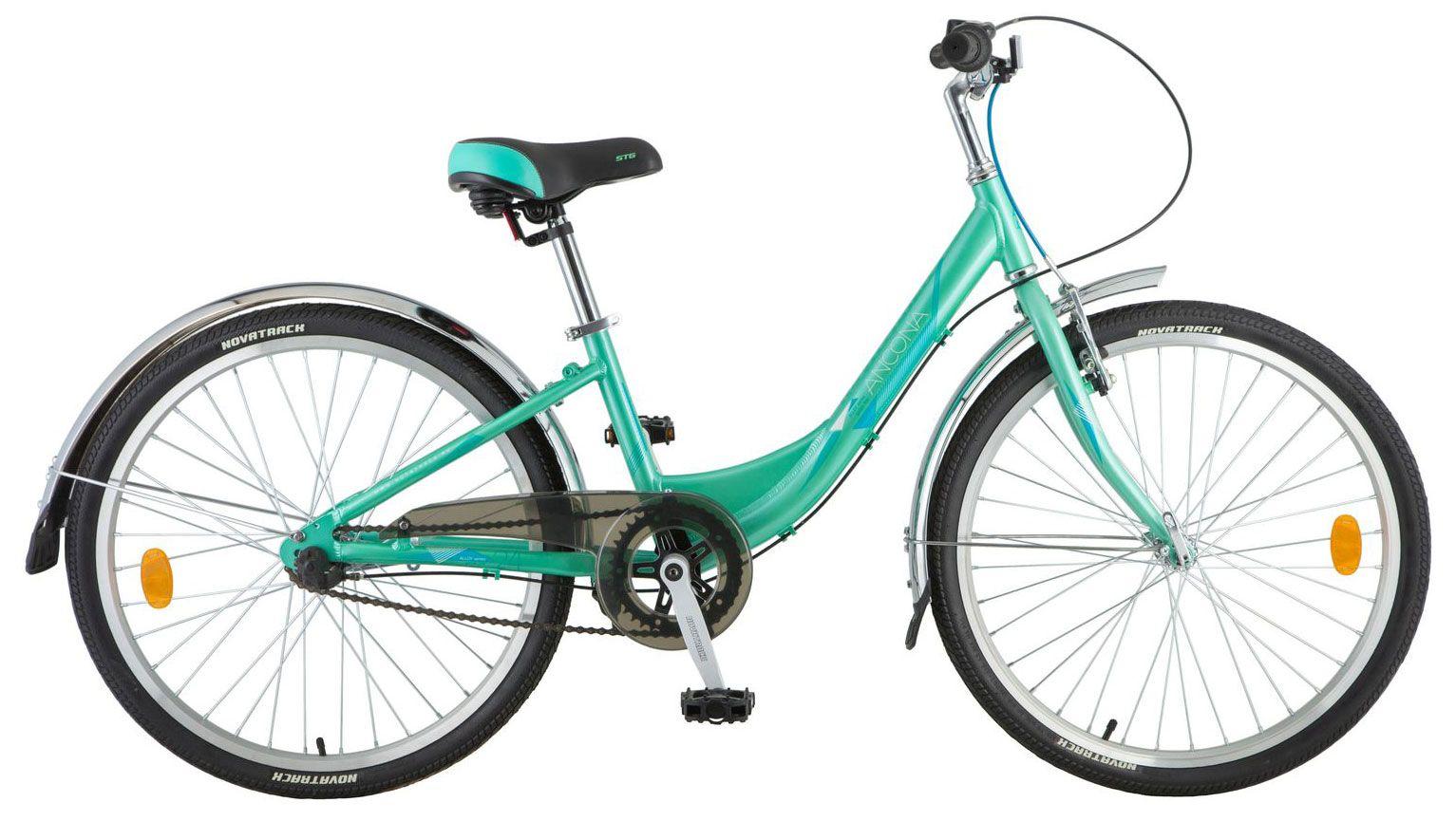Велосипед Novatrack Ancona 24 2018 велосипед novatrack urban 14 синий