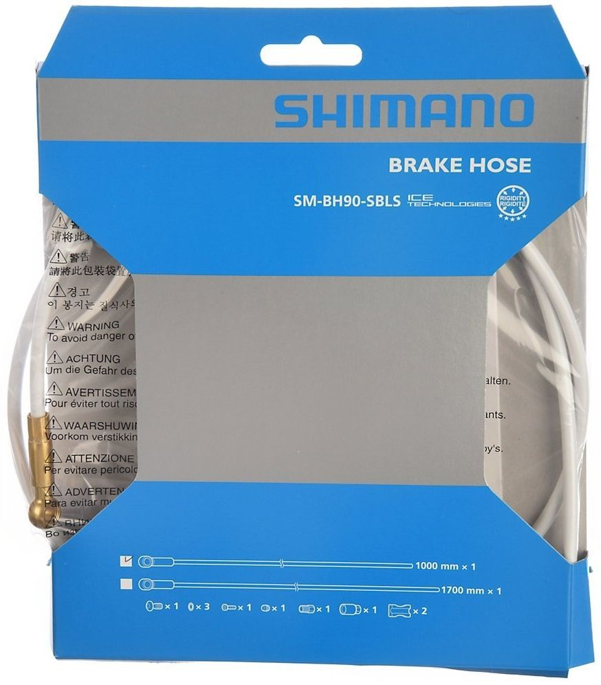 Запчасть Shimano гидролиния XTR BH90-SBLS (ISMBH90SBLSW170) перекл передн shimano xtr fd m9020e 2x11v боковая тяга