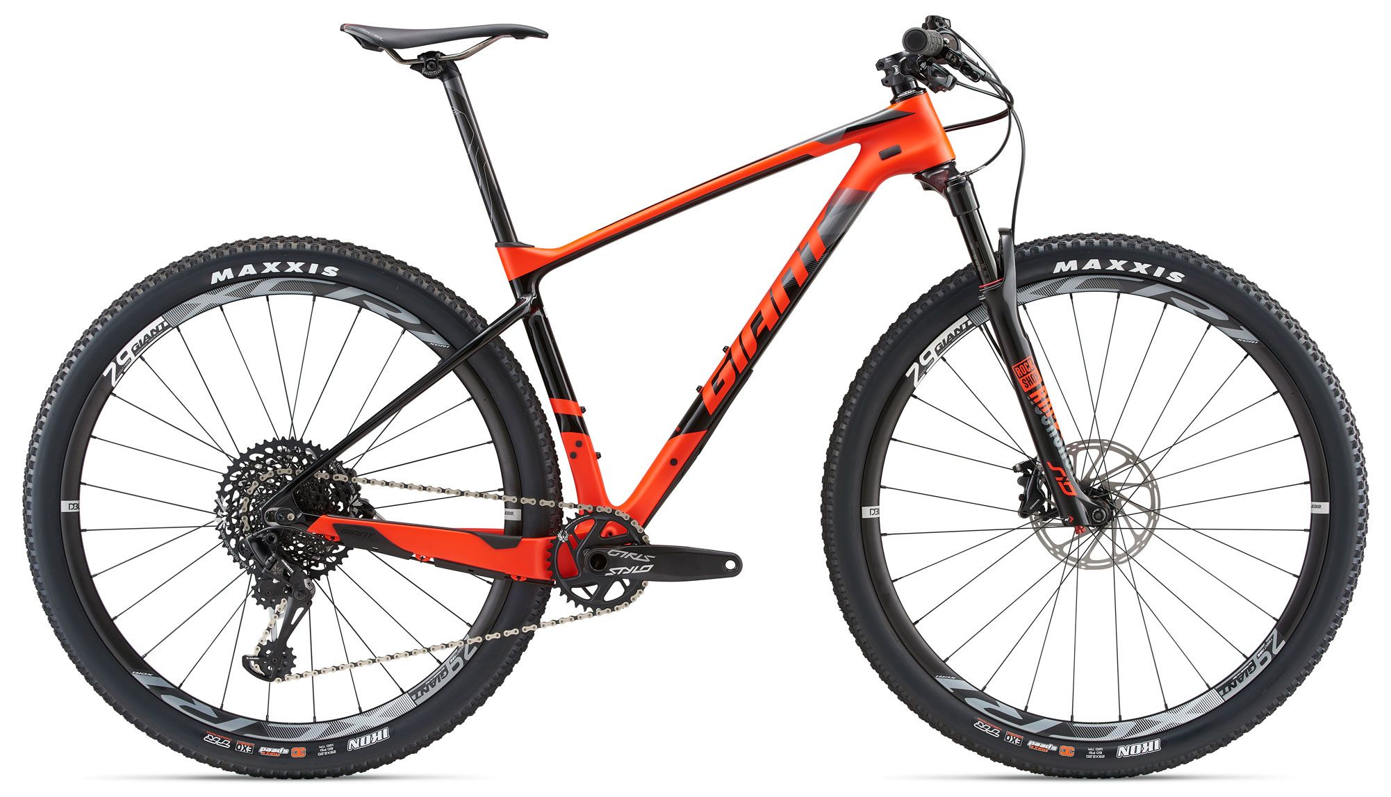 Велосипед Giant XTC Advanced 29er 1 2018 велосипед giant talon 29er 2 blk 2014