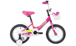 Детский велосипед  Novatrack  Twist 14 с корзинкой  2020