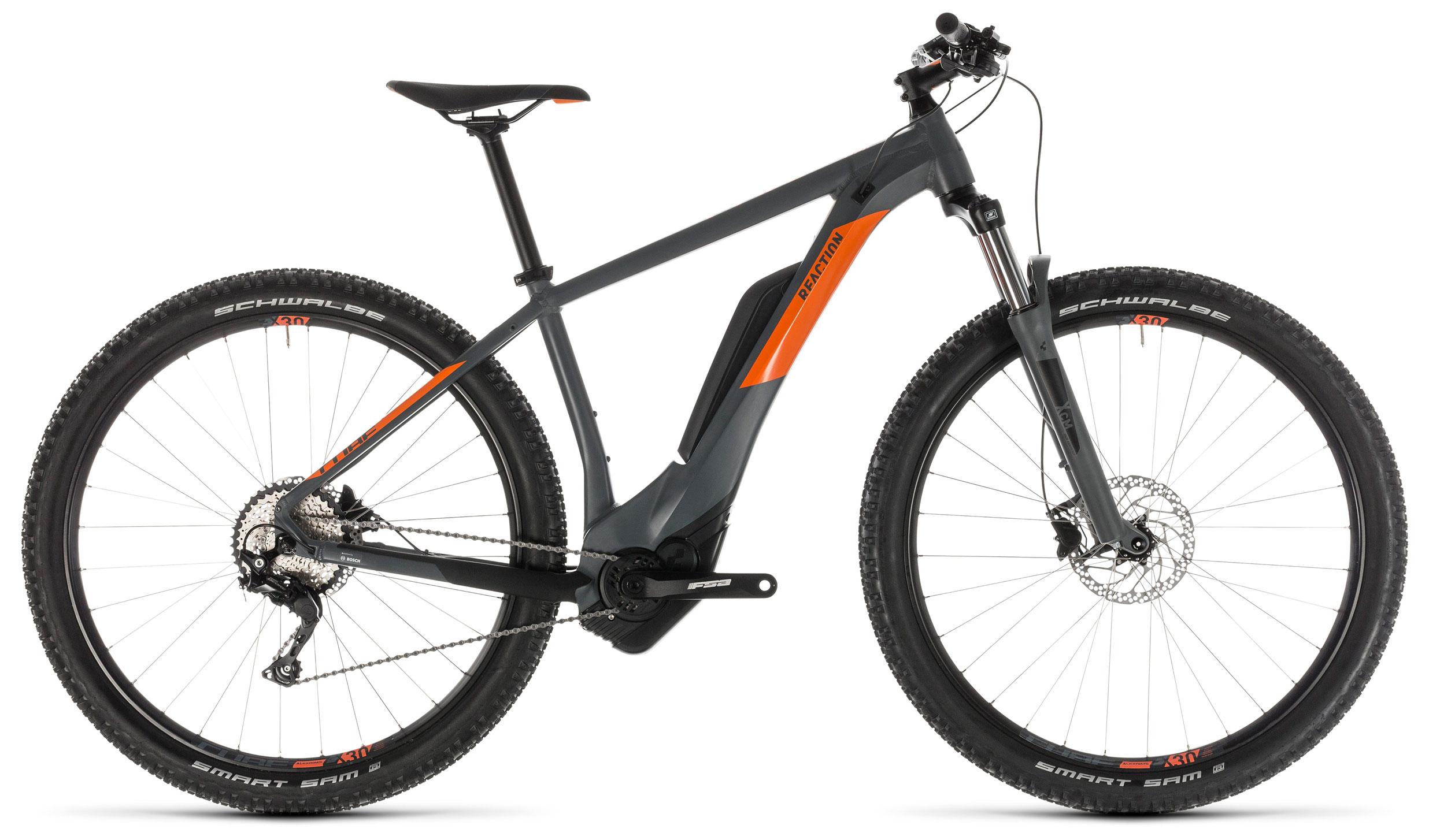 Велосипед Cube Reaction Hybrid Pro 400 27.5 2019 цена