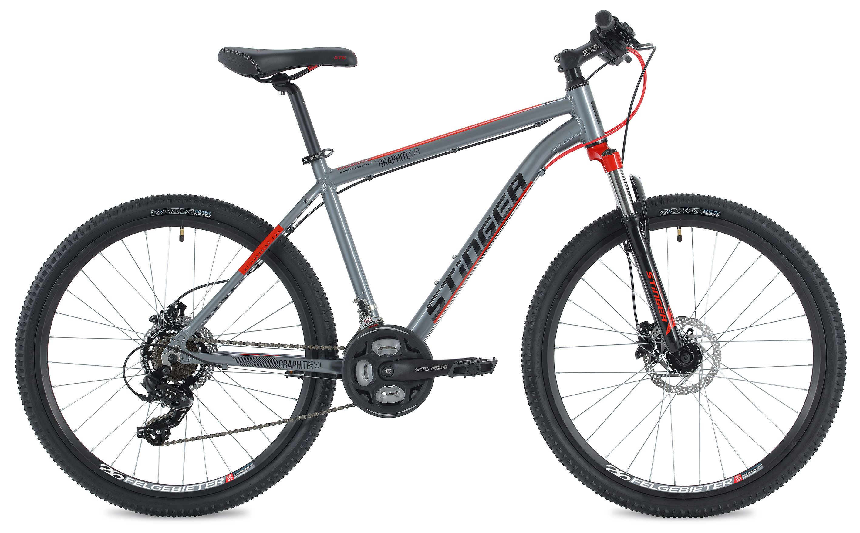 Велосипед Stinger Graphite Evo 26 2018 велосипед stinger graphite hd 27 5 2017