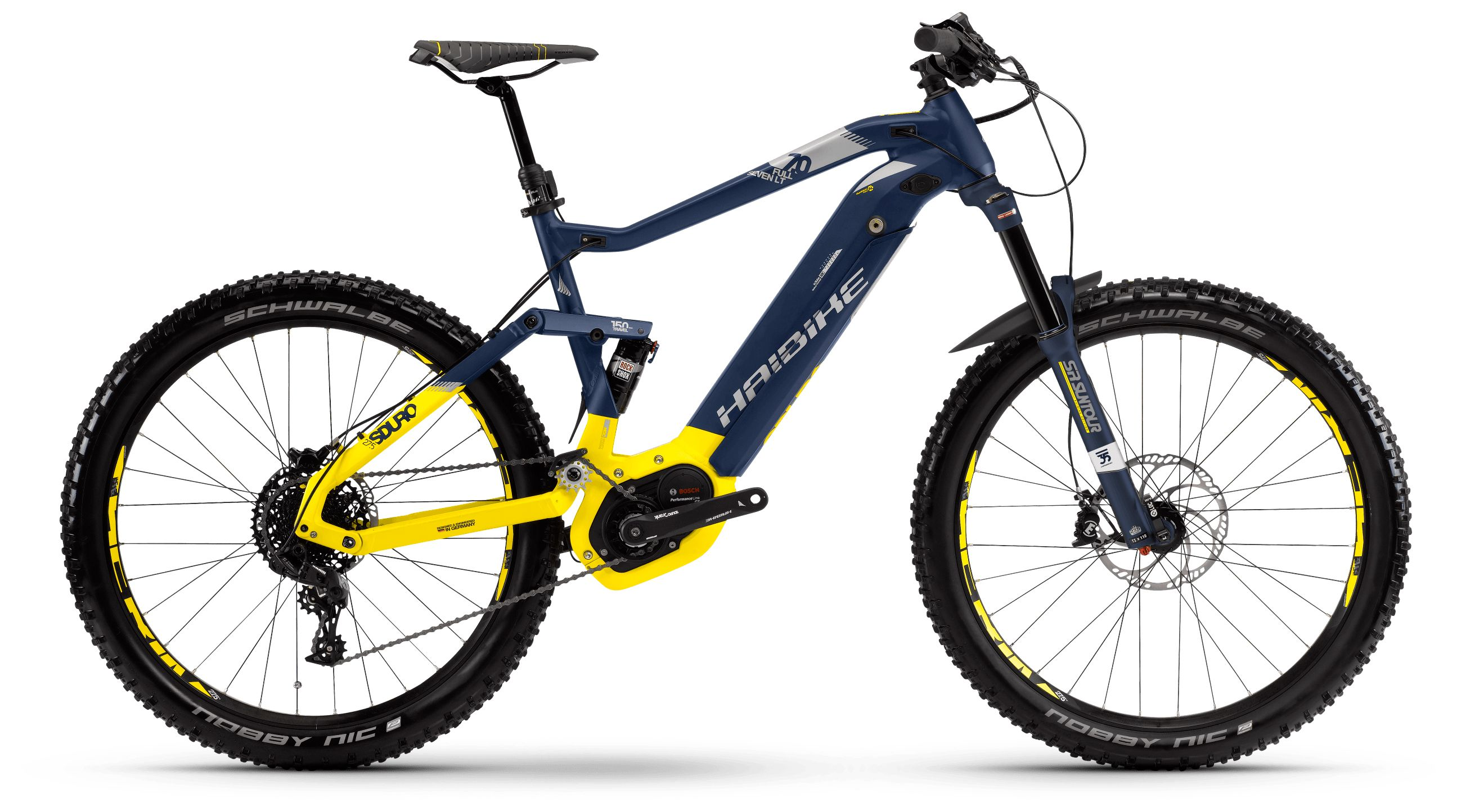 Велосипед Haibike Sduro FullSeven LT 7.0 500Wh 11s NX 2018