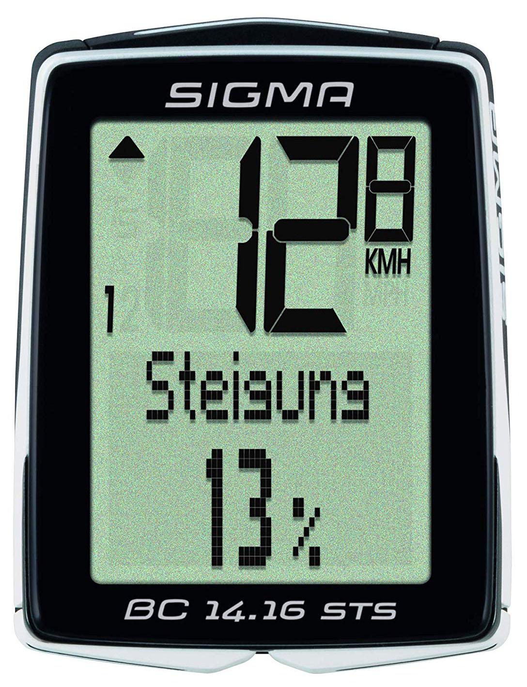 Аксессуар SIGMA BC 14.16 STS CAD (01418) датчик sigma скорости беспроводной sts арт 00439