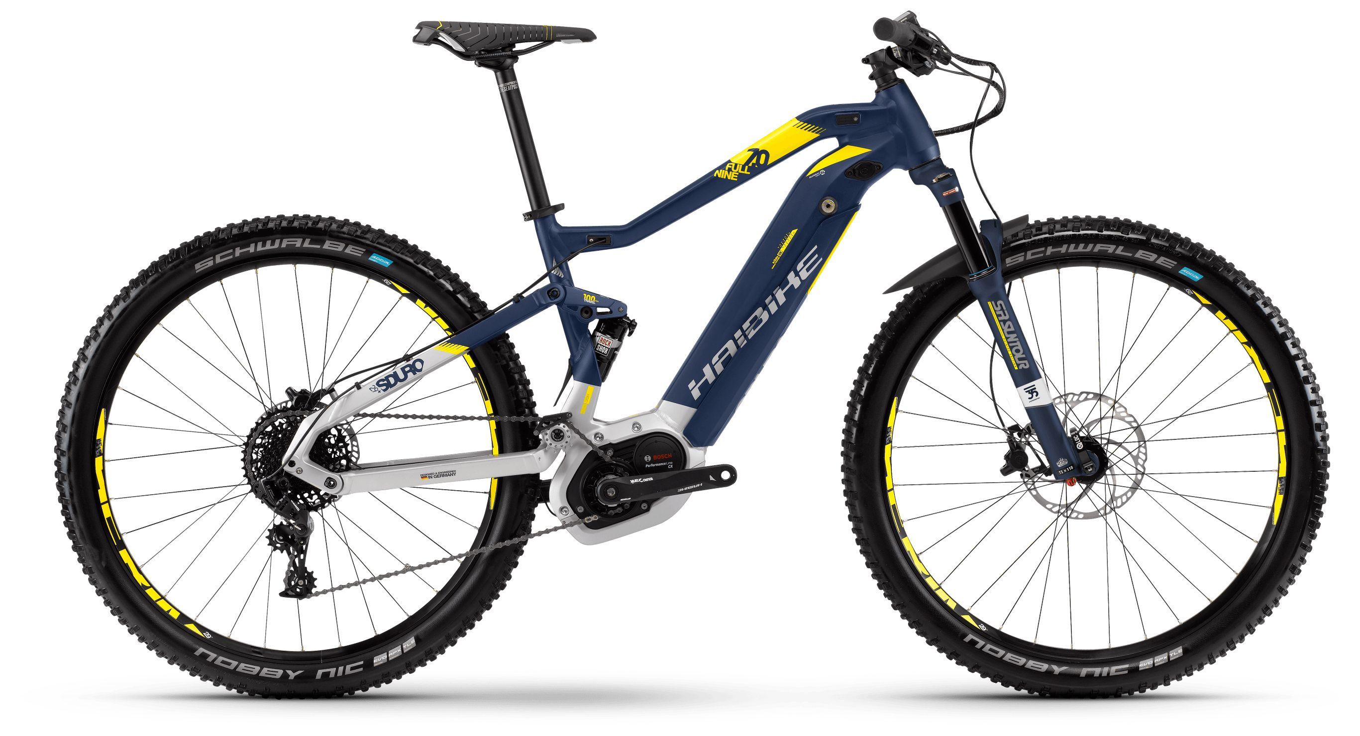 Велосипед Haibike Sduro FullNine 7.0 500Wh 11s NX 2018 велосипед haibike sduro hardseven 2 0 400wh 11s nx 2018