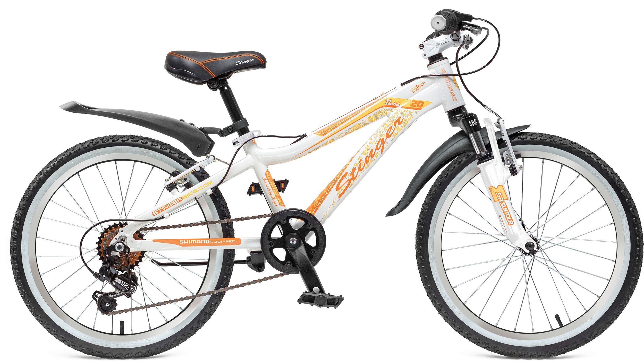 Велосипед Stinger Fiona 20 2016 велосипед stinger fiona kid 20 2016