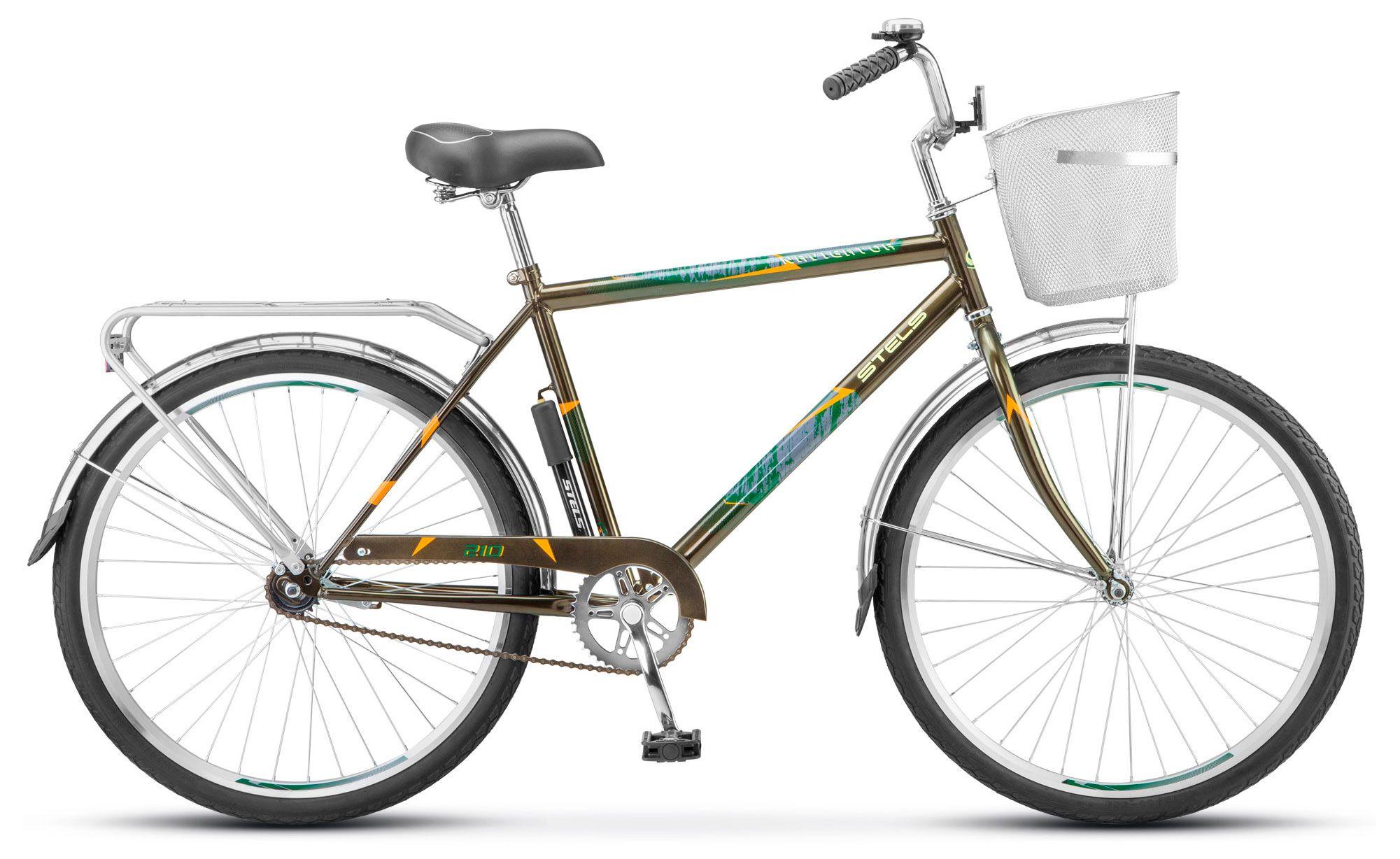Велосипед Stels Navigator-210 Gent (Z010) 2018 велосипед stels navigator 350 gent 28 z010 20 синий