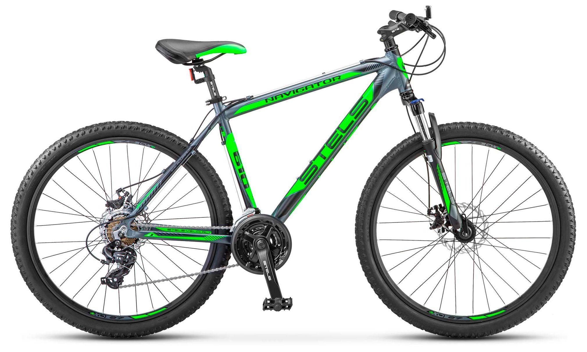 Велосипед Stels Navigator-610 MD 27.5 (V030) 2017 велосипед stels navigator 310 2016