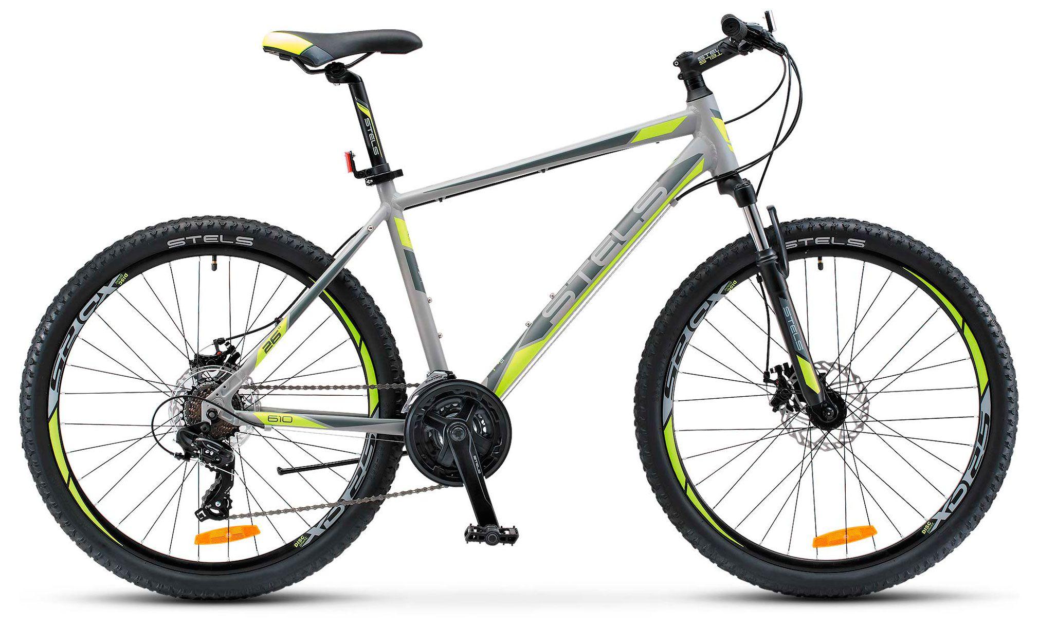 Велосипед Stels Navigator 610 MD 26 (V020) 2018 stels navigator 250 gent 26 16